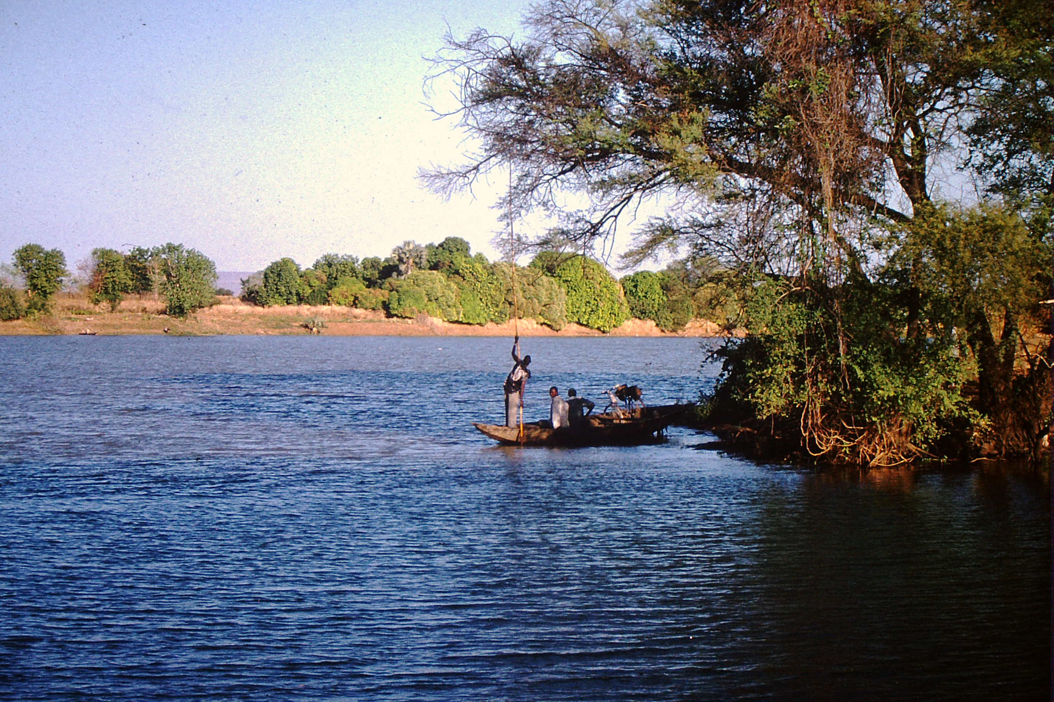 39. Piste Zwischen Kita und Bamako.