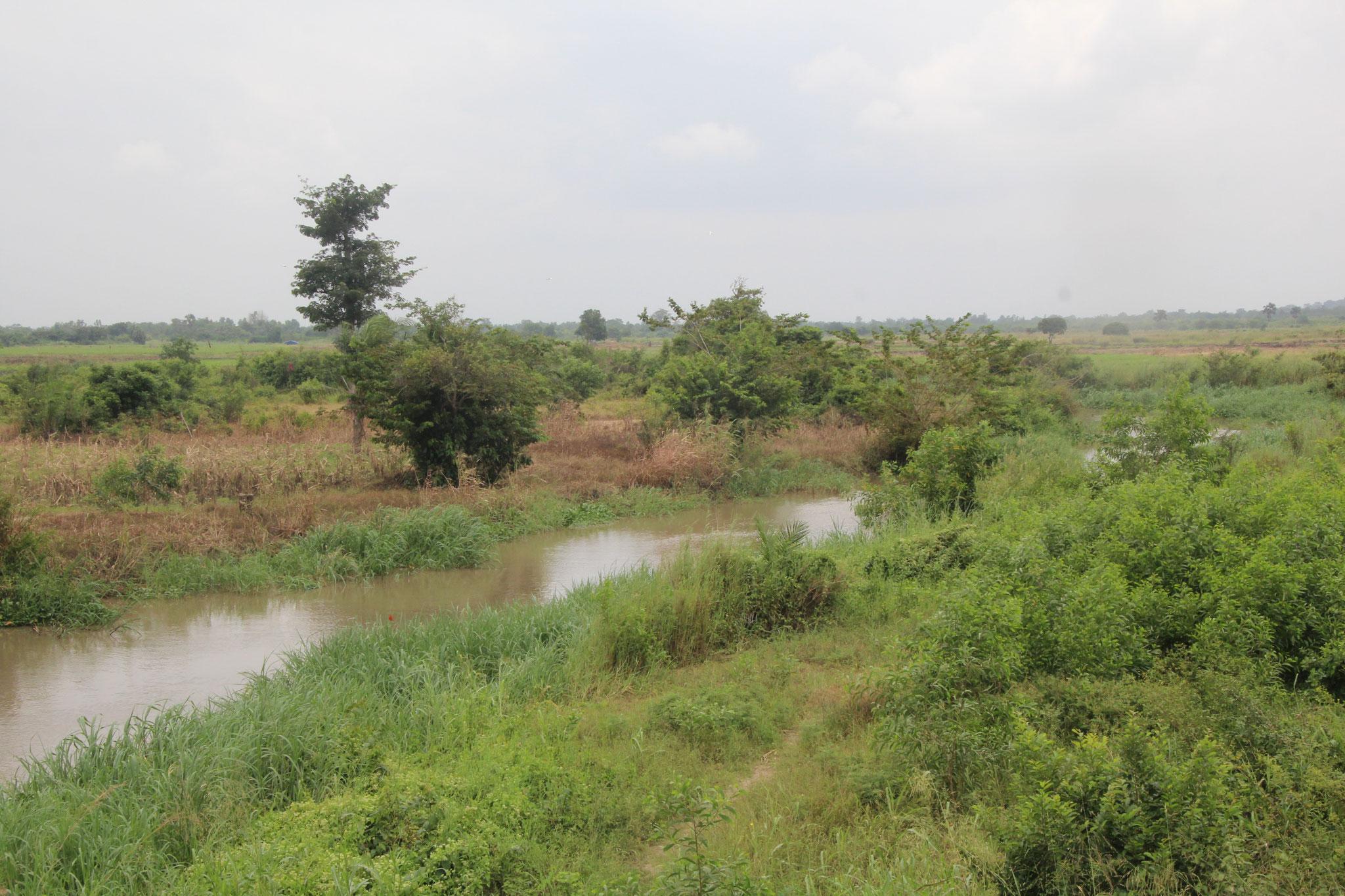 Flusslandschaft bei Haho.