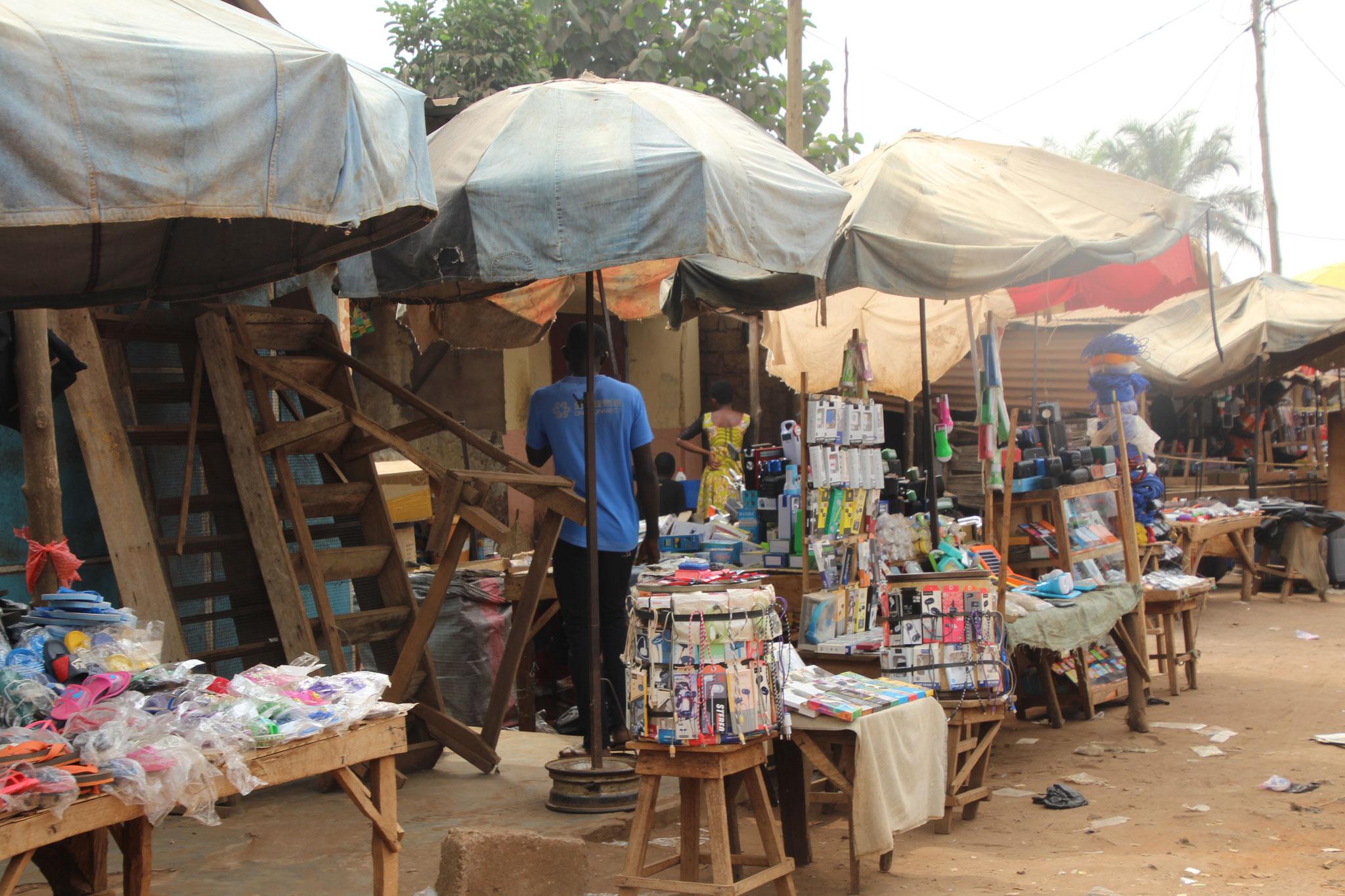 Markt in Tsevie.