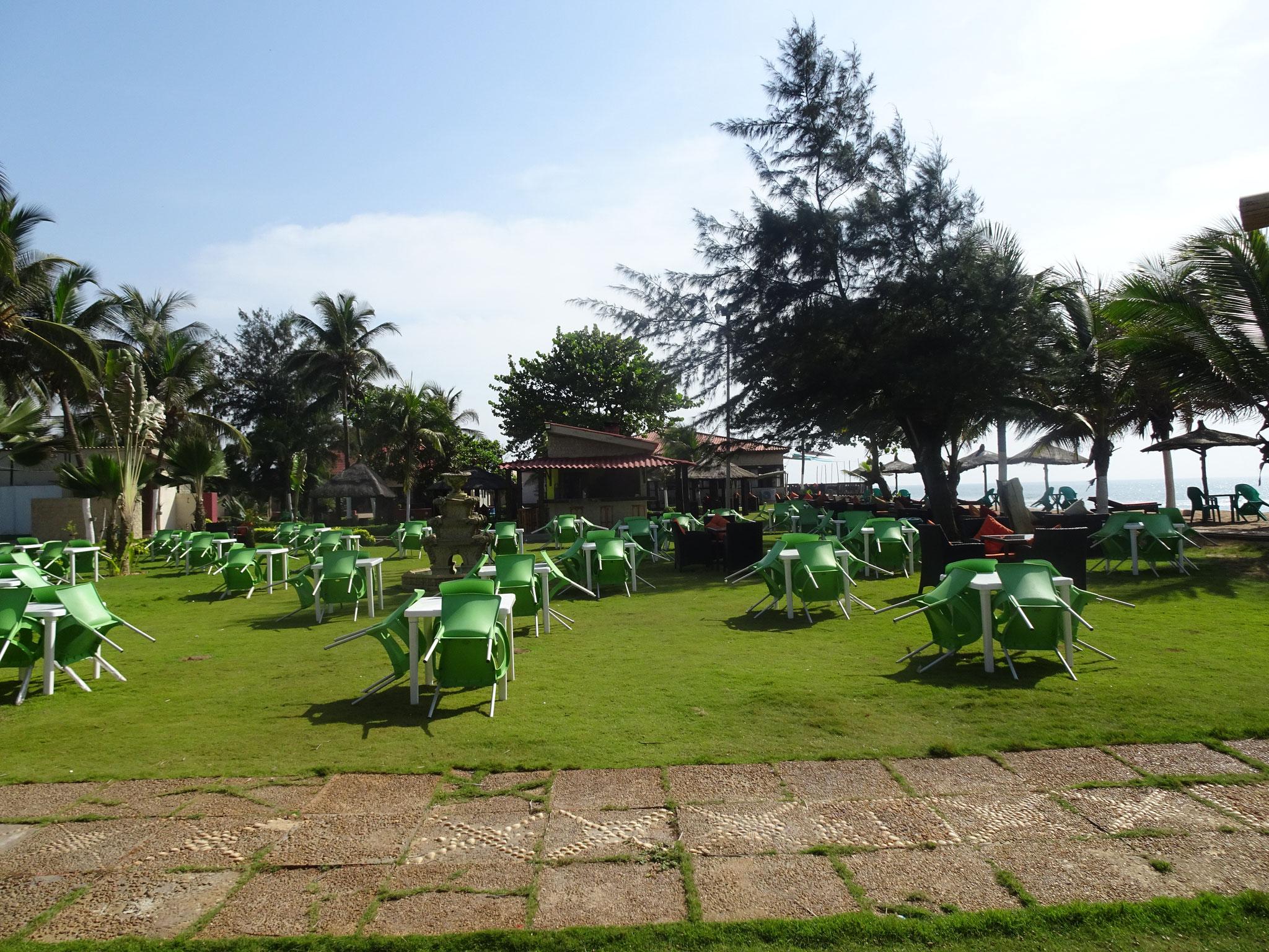Ramatou Plage mit Sicht Richtung Osten