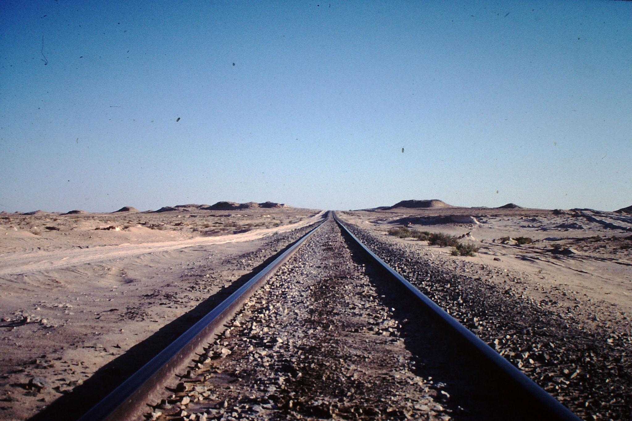 Eisenbahnlinie.