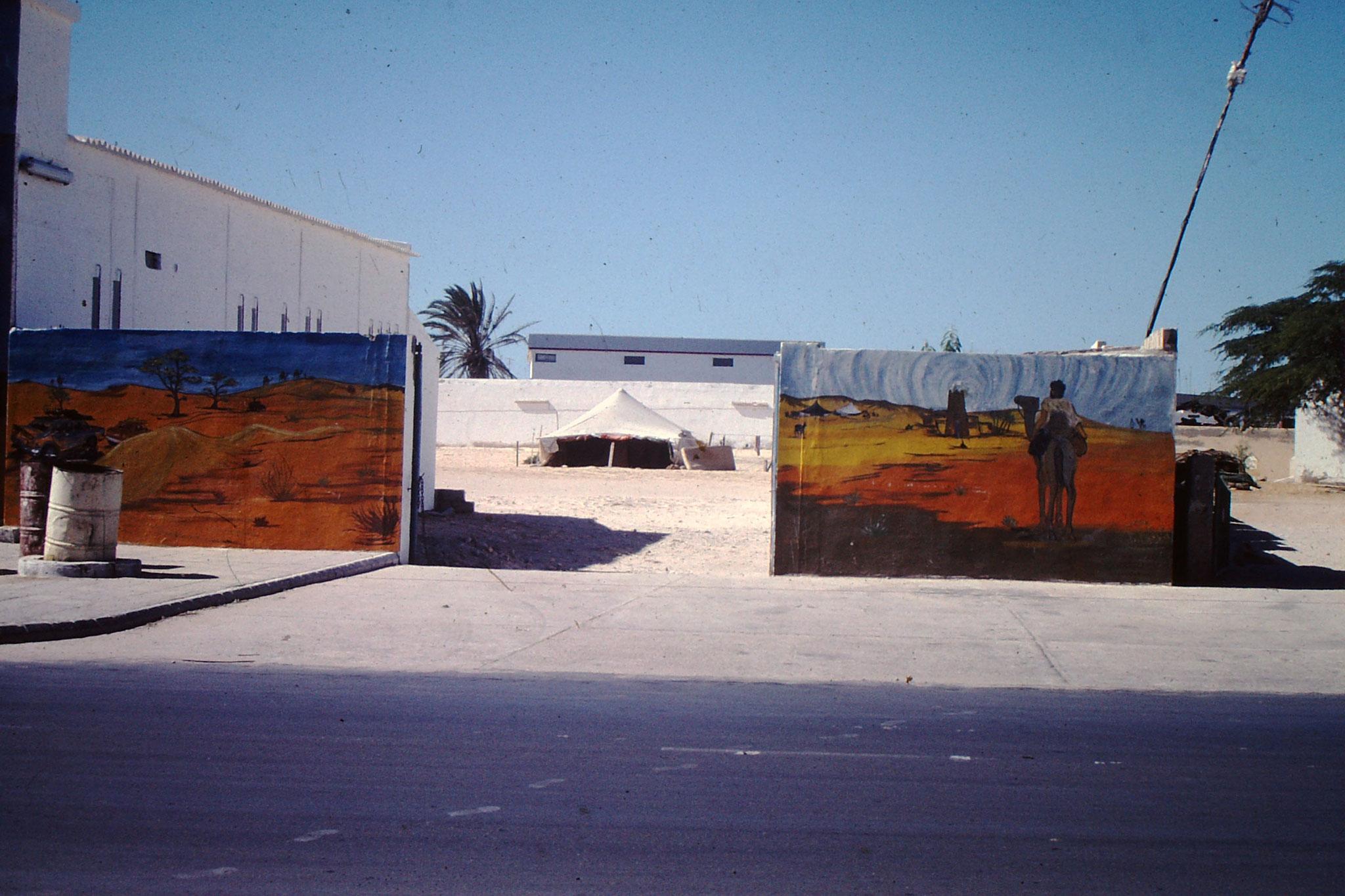 Campingplatz in Nouakchott.