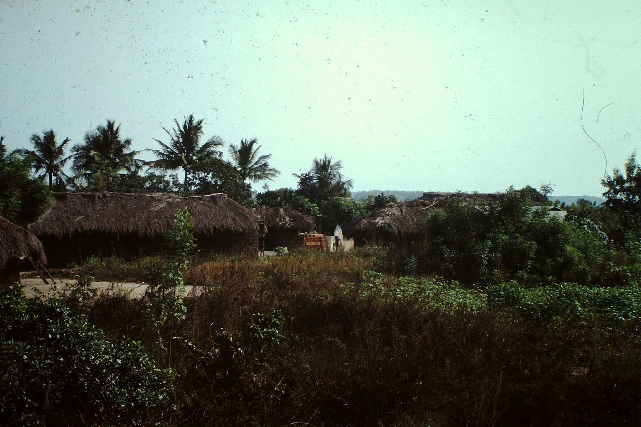 Dorf zwischen Accra und Aflao.