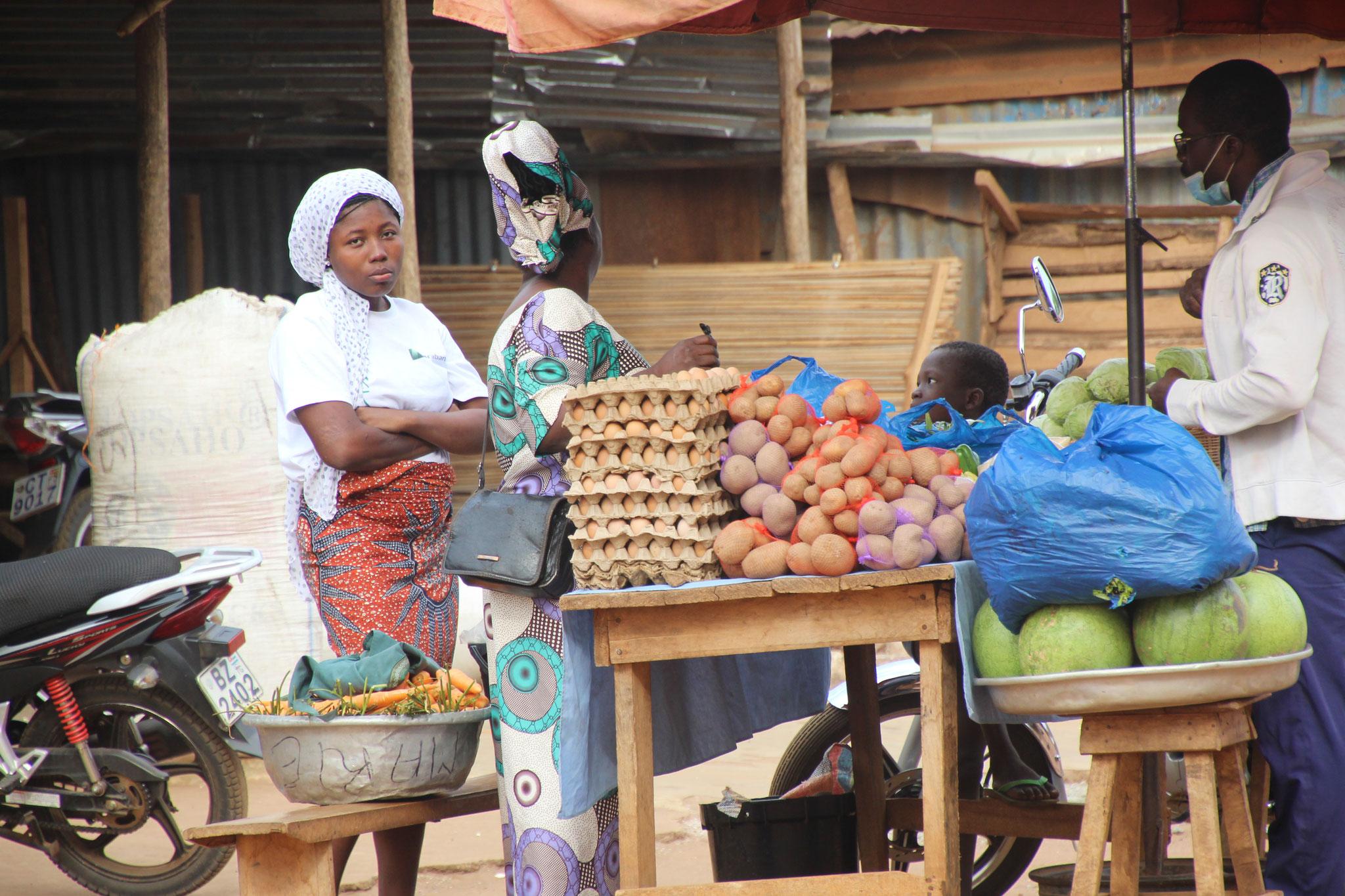 Marktfrau.