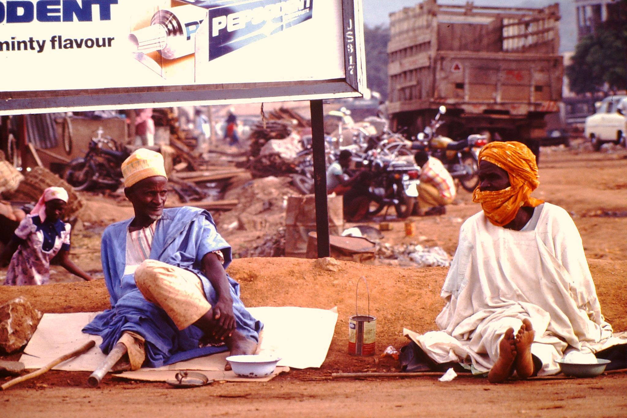Bettler in Ibadan