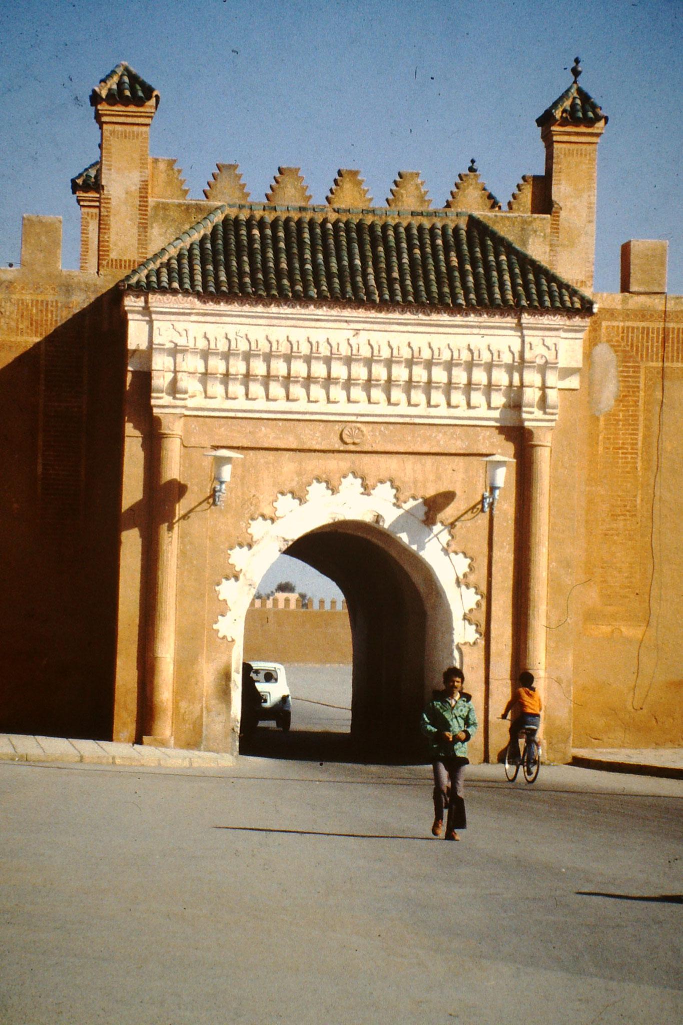 Tor zum Königspalast in Marackech.