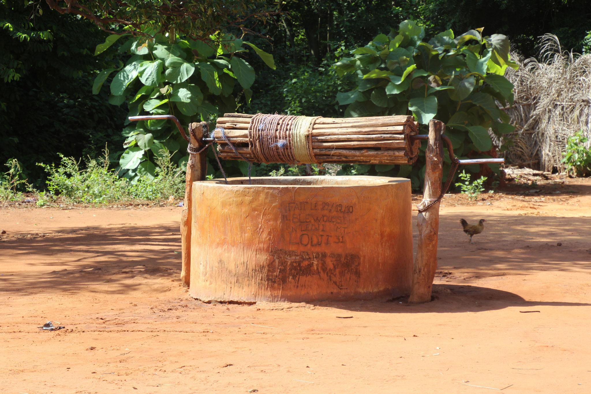 Der neue Brunnen in Sedome.
