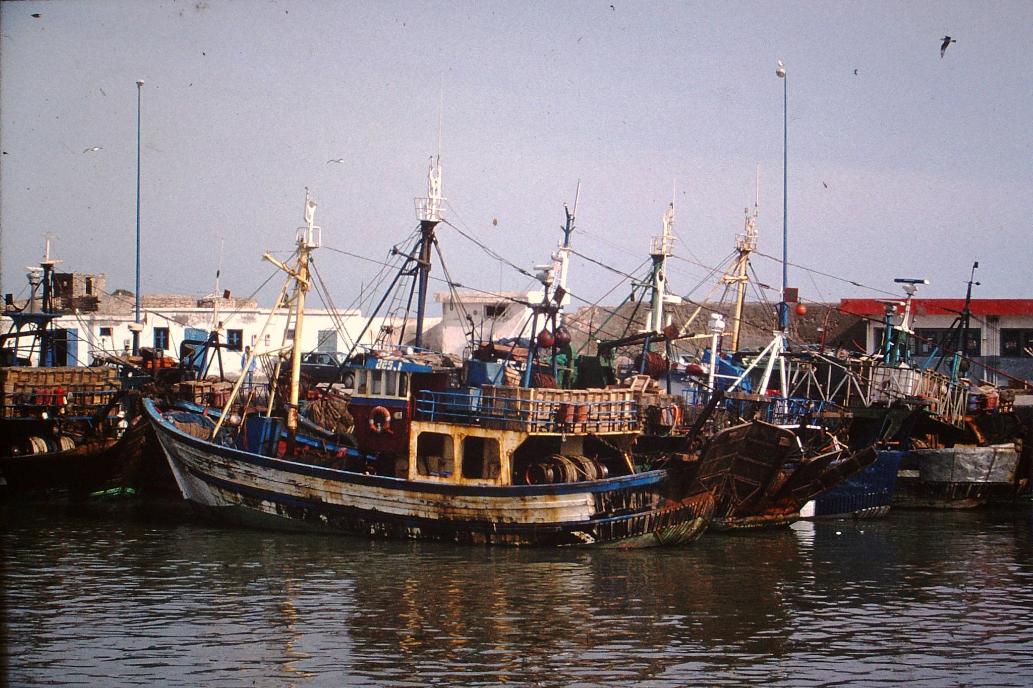Fischerhafen in Essauira