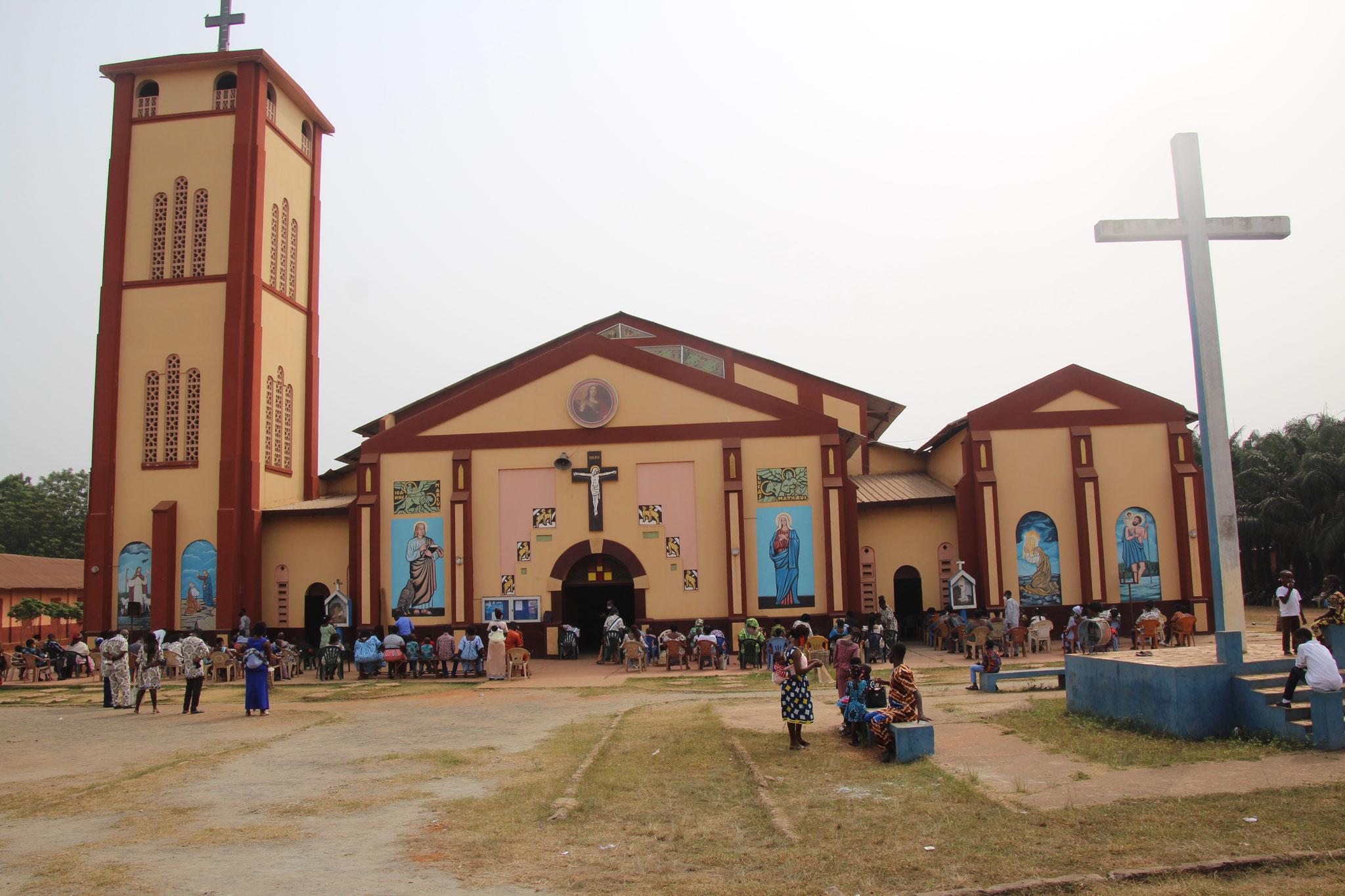 Kirche von Tsevie.