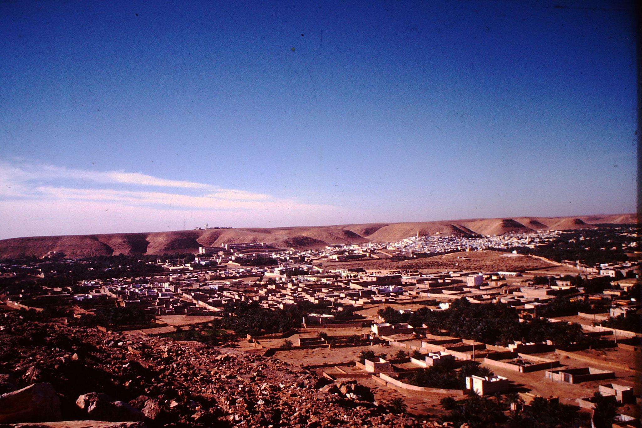 Auch bei der zweiten  Saharadurchquerung (1978) konnte ich in Ghardaia einfach nicht vorbei fahren.