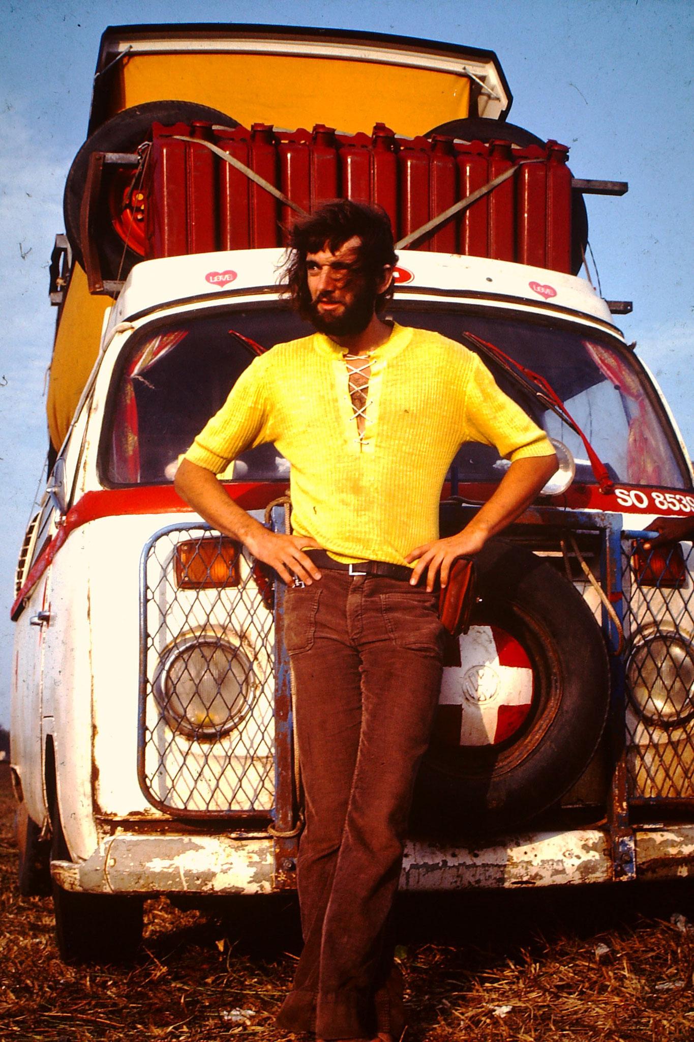 Das bin ich im Jahr 1978.