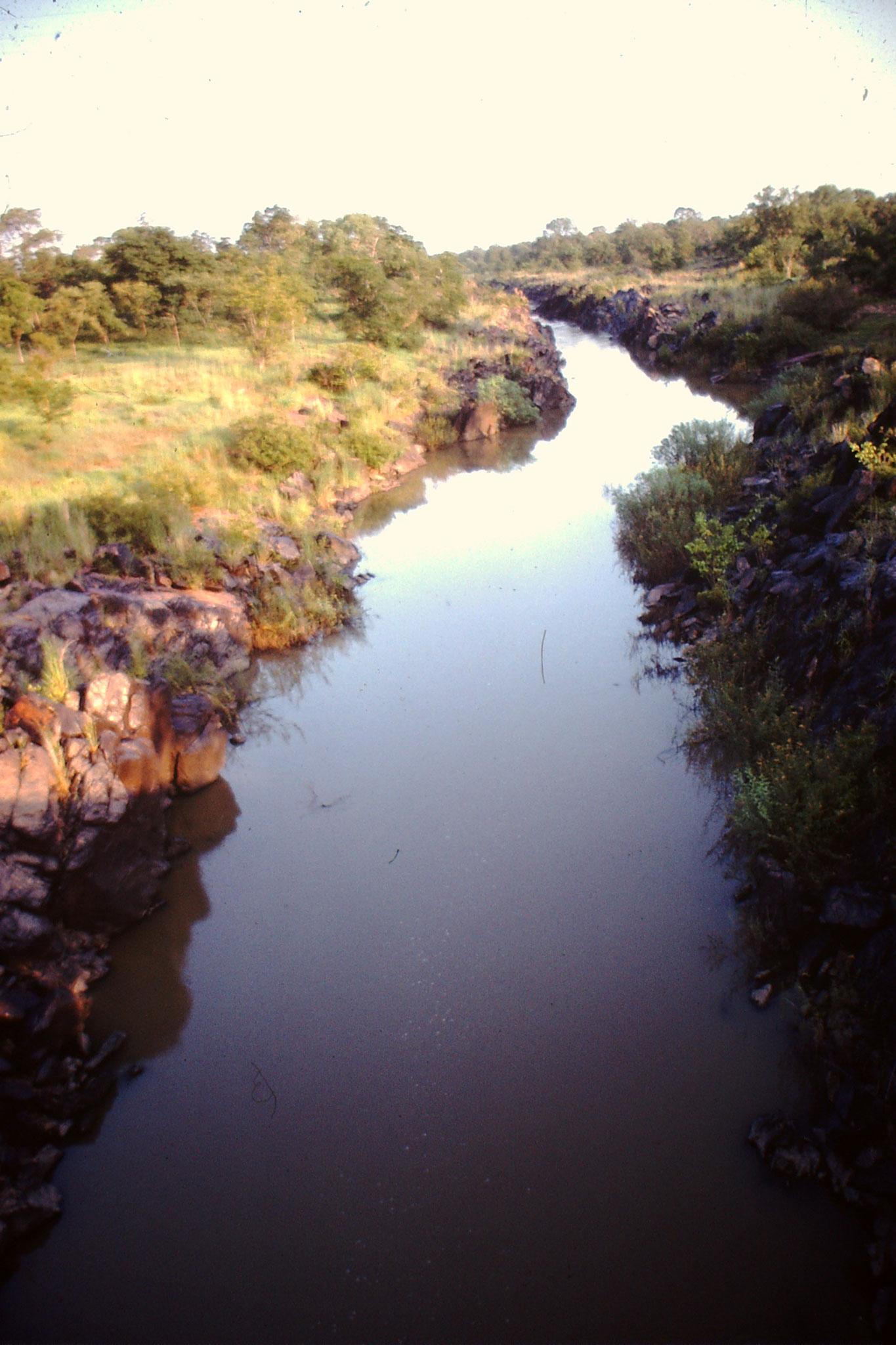 Kleiner Fluss im Wawa Game  Reserve