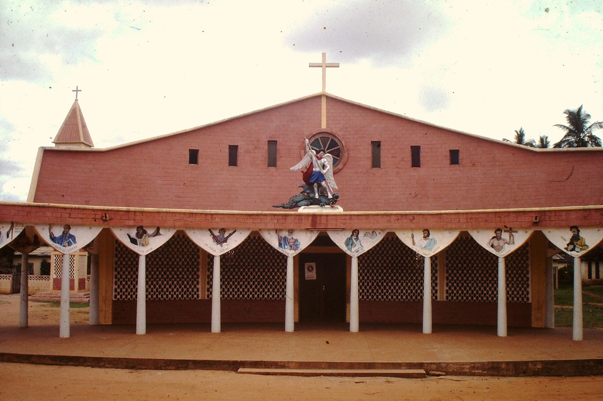 Kirche bei Aneho.