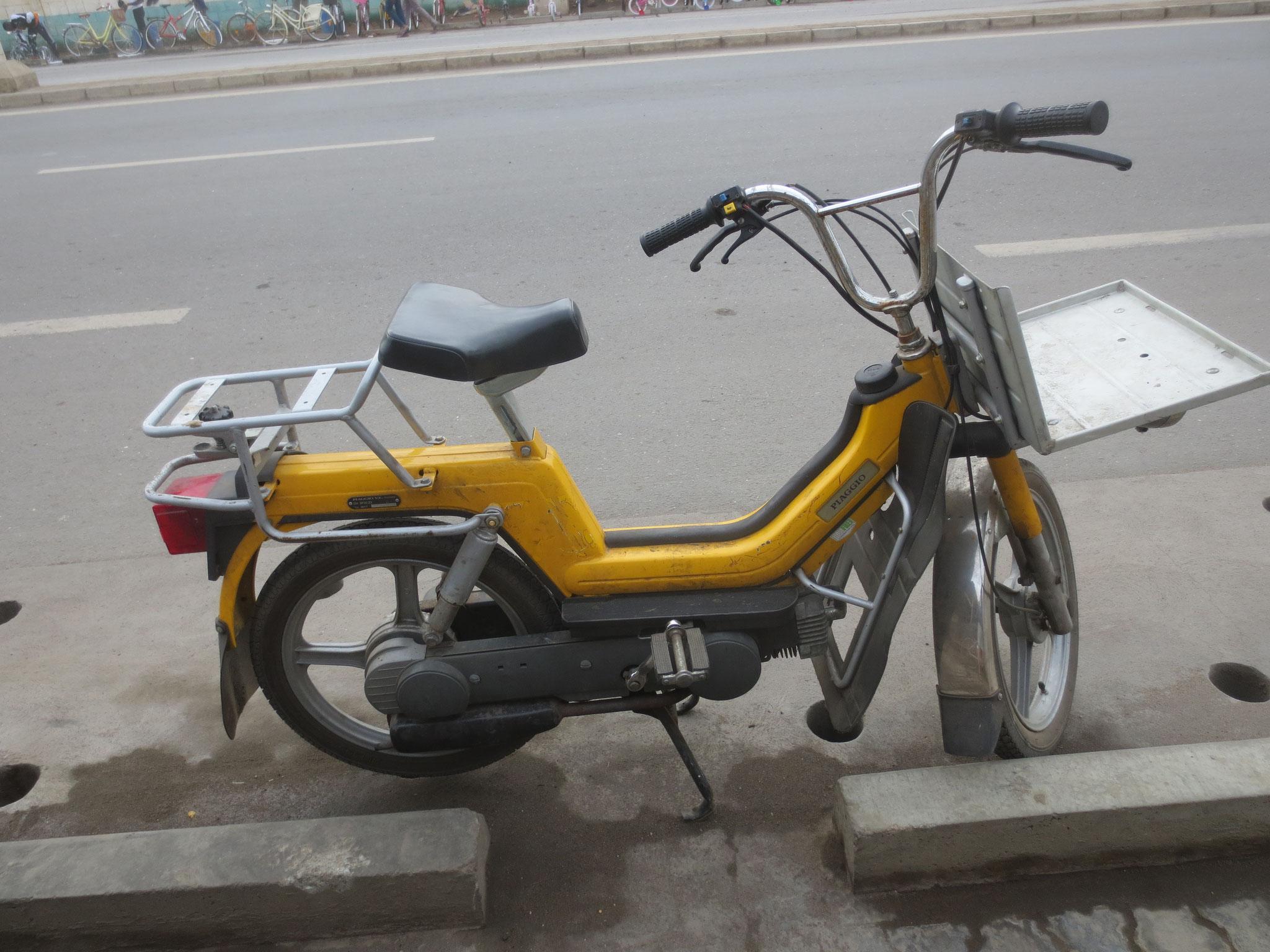 Auch ein Posttöffli schaffte es bis Togo.