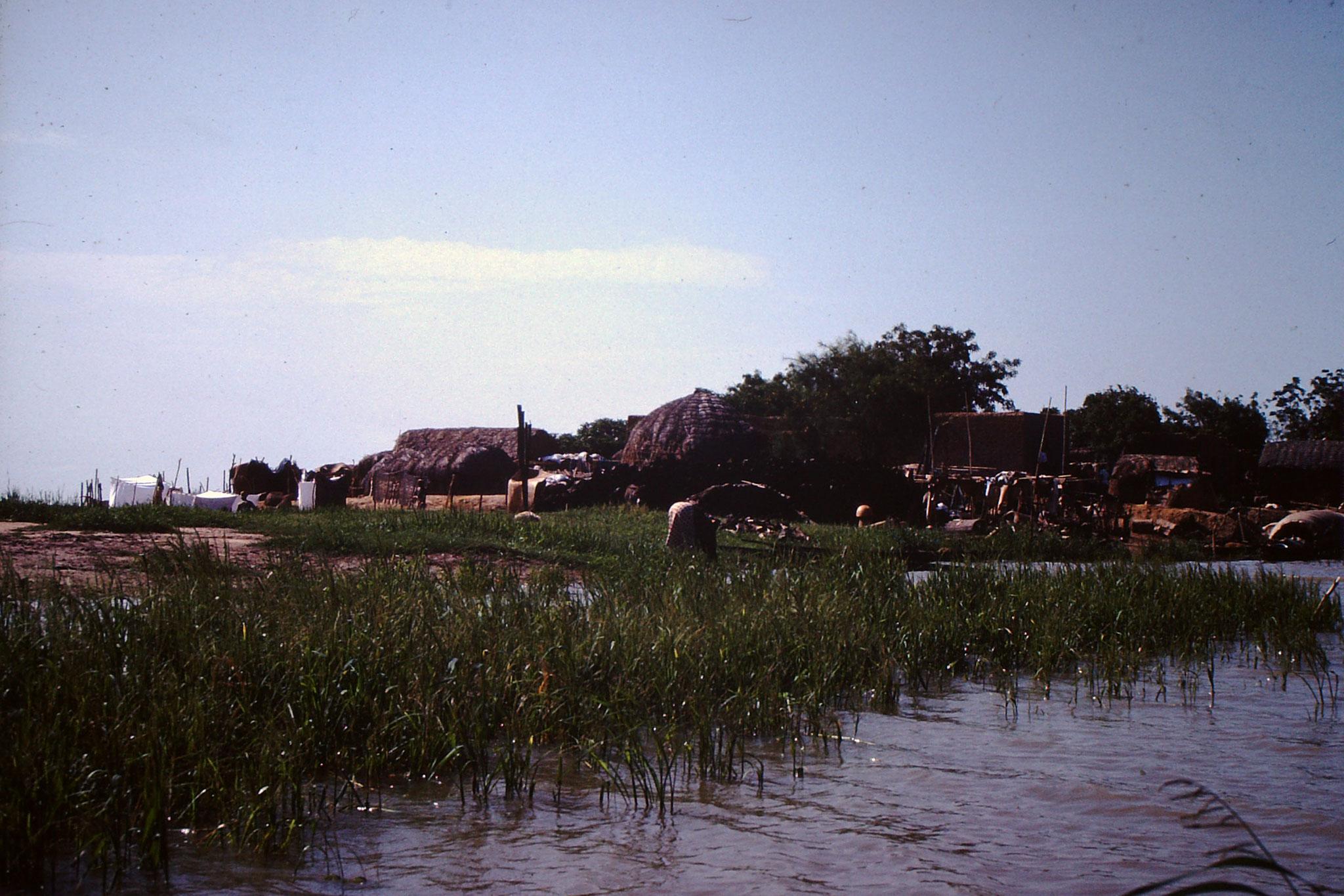 Dorf zwischen Mopti und Bandiagara.