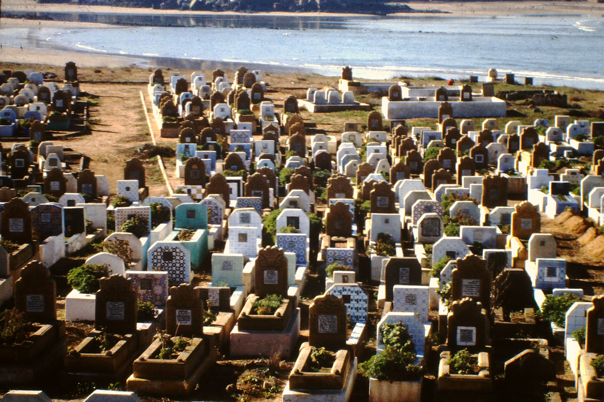 Friedhof in Rabbat.