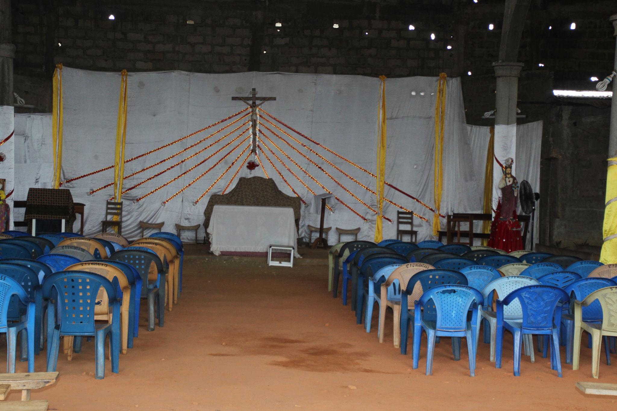 In der Kirche von Agbata