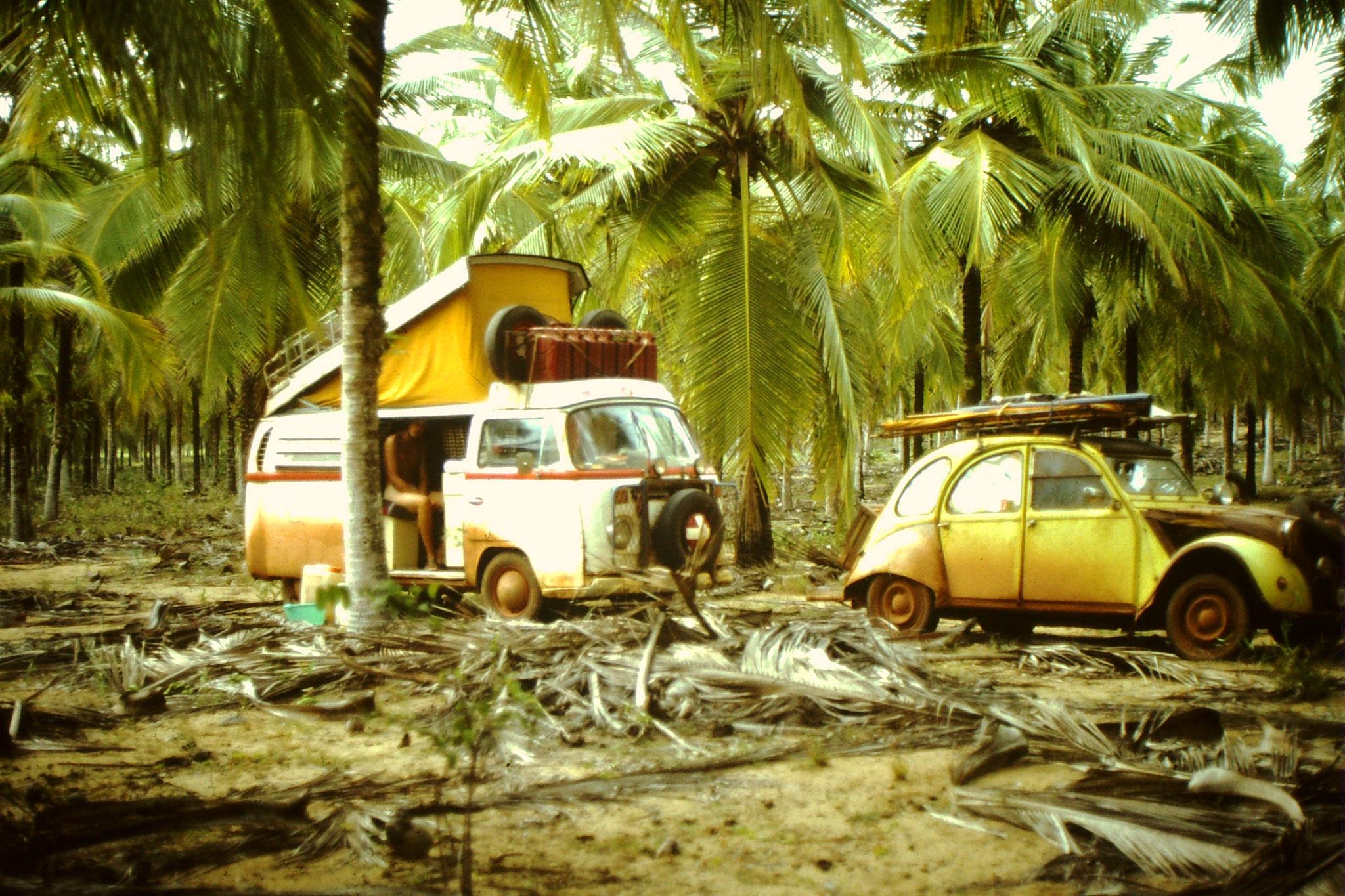 25. Übernachtungsplatz kurz vor Abidjan.