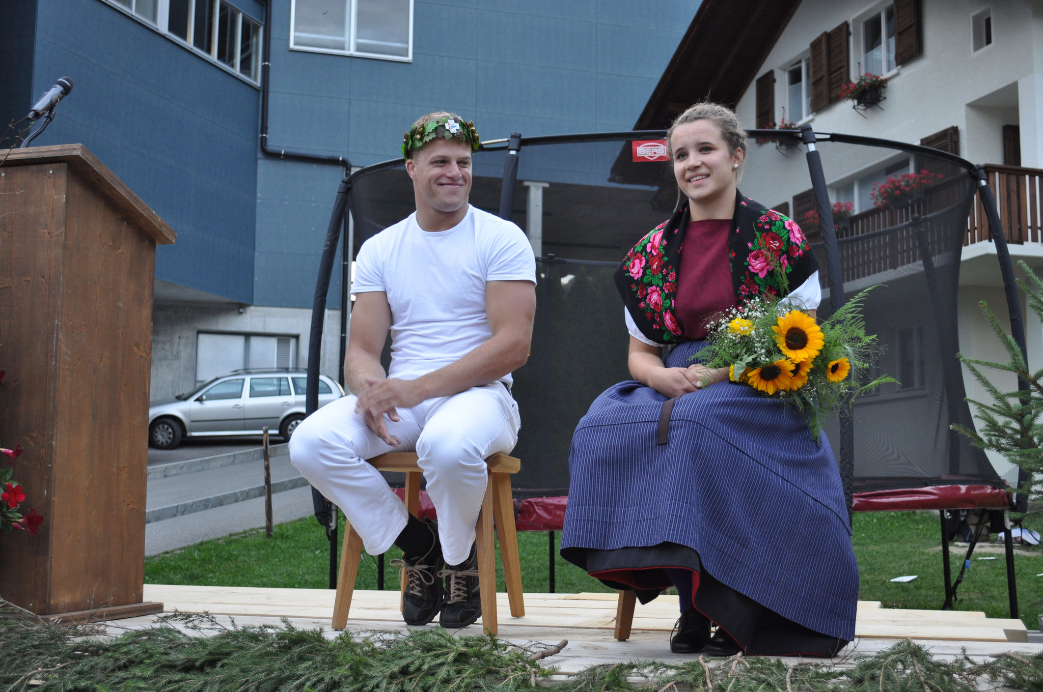 von Weissenfluh Kilian mit Ehrendame Annina Ott