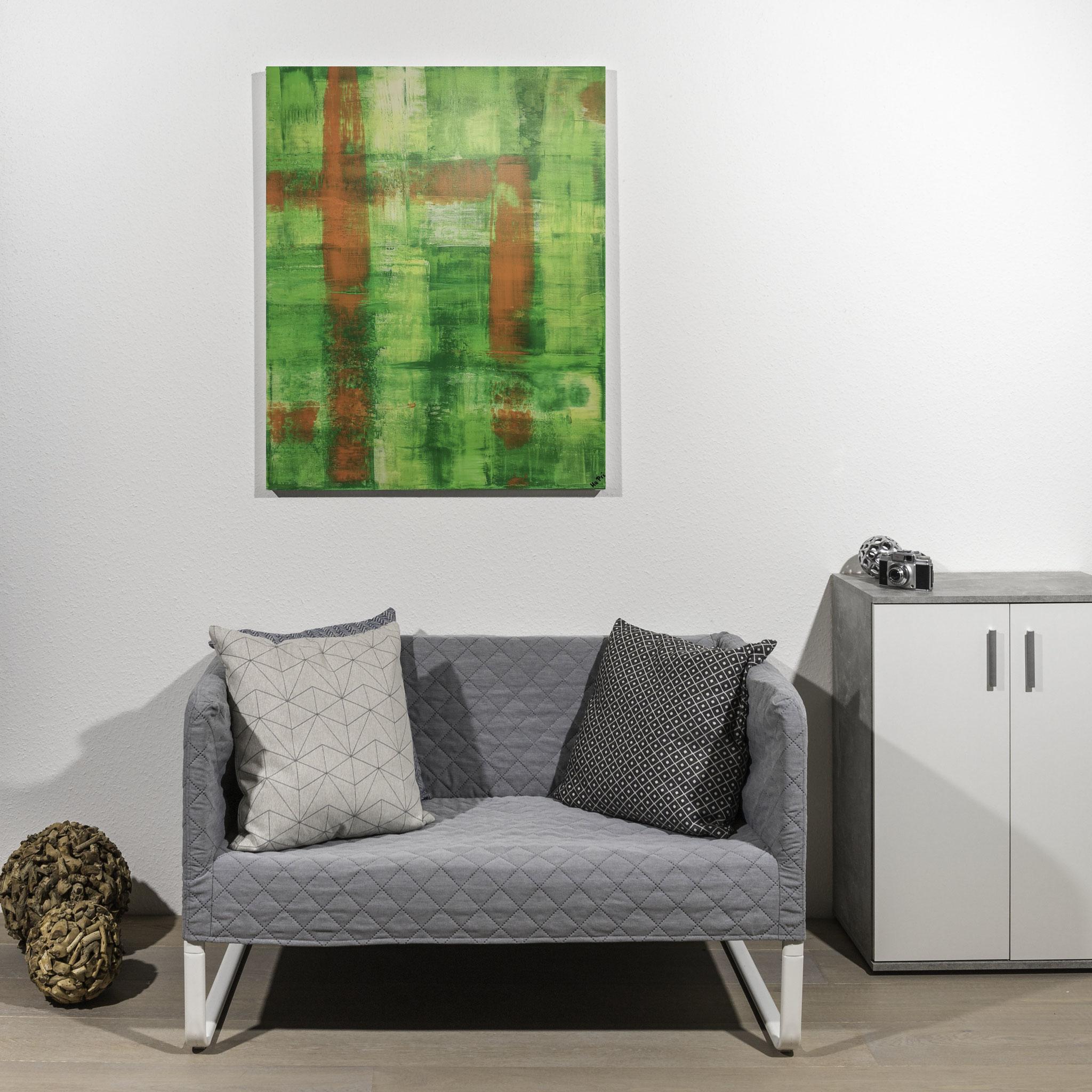 #53  grüner Traum                 100 x 80cm