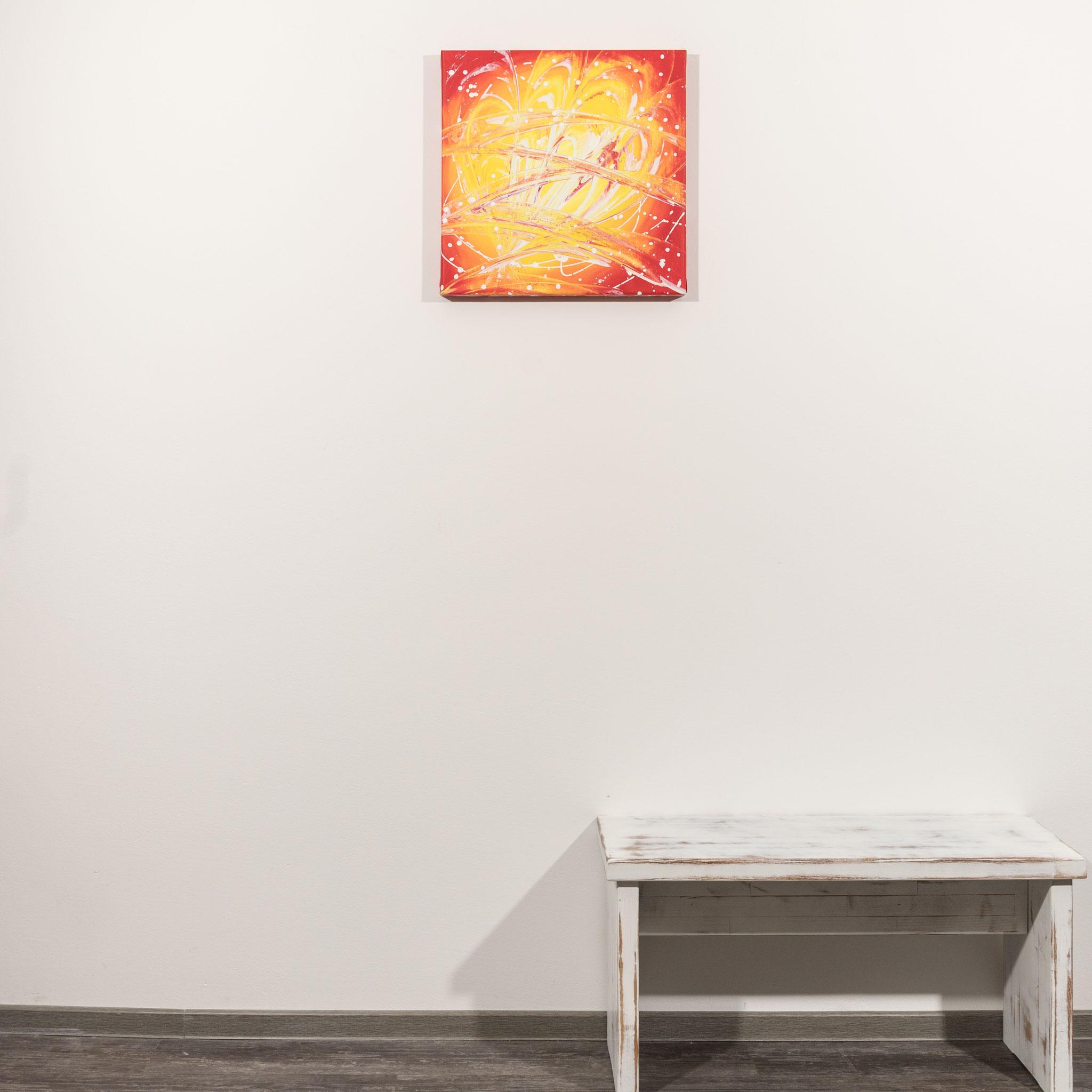 # 91 Unterwelt II  ´21.         50 x 50cm