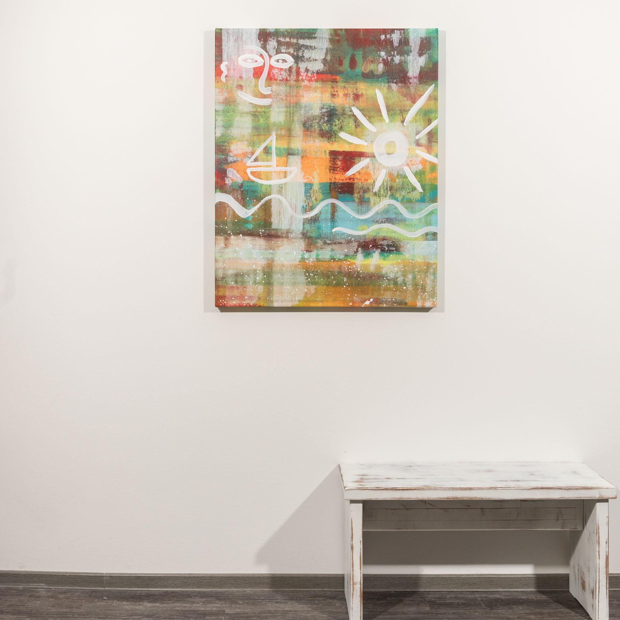 # 74 Harmonie der Sonne ´20            80 x 100cm