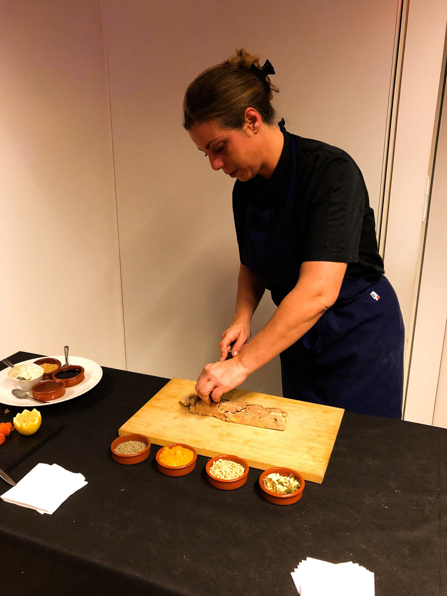 Atelier découpe de foie gras