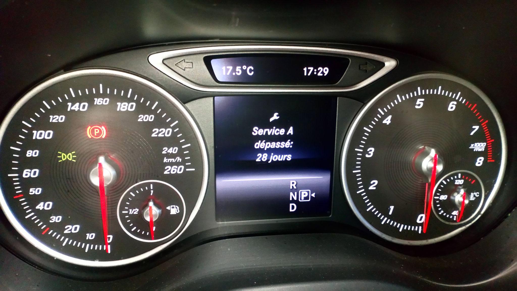 Révision de votre Mercedes