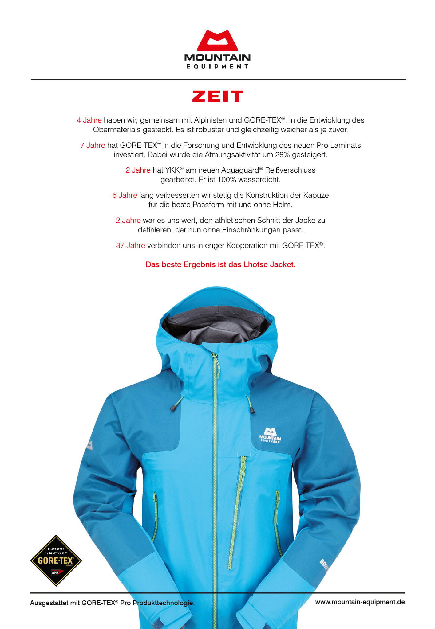 Mountain Equipment GORETEX