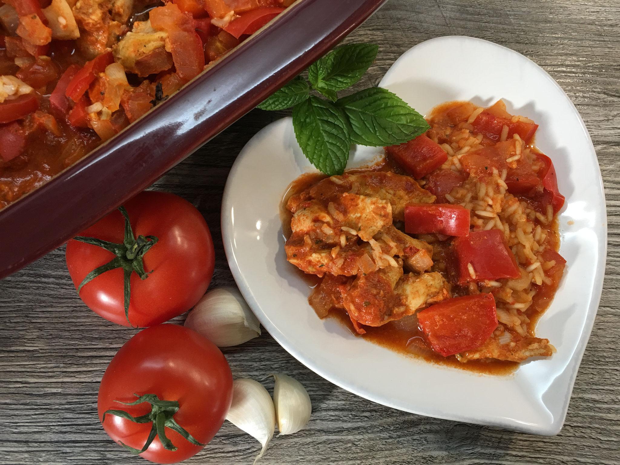 Serbisches Reisfleisch aus dem Ofenmeister