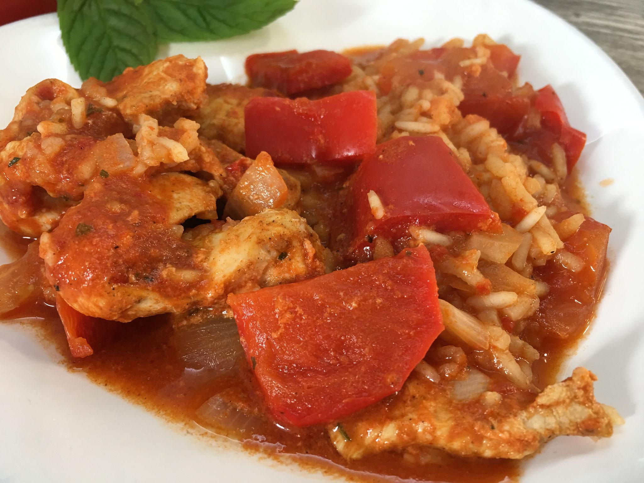 Serbisches Reisfleisch aus dem Zaubermeister