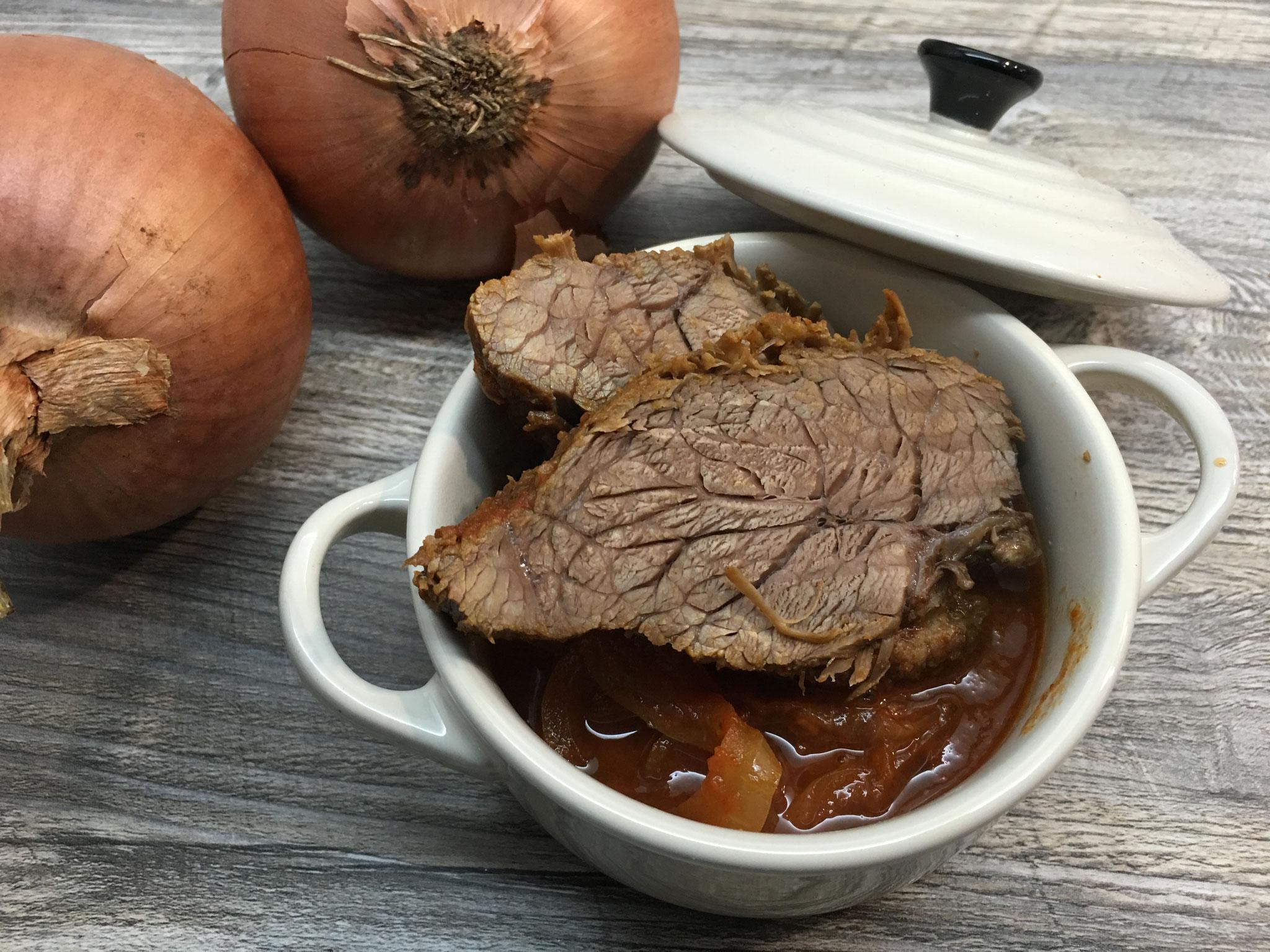 Barbecue Rinderbraten aus dem Ofenmeister