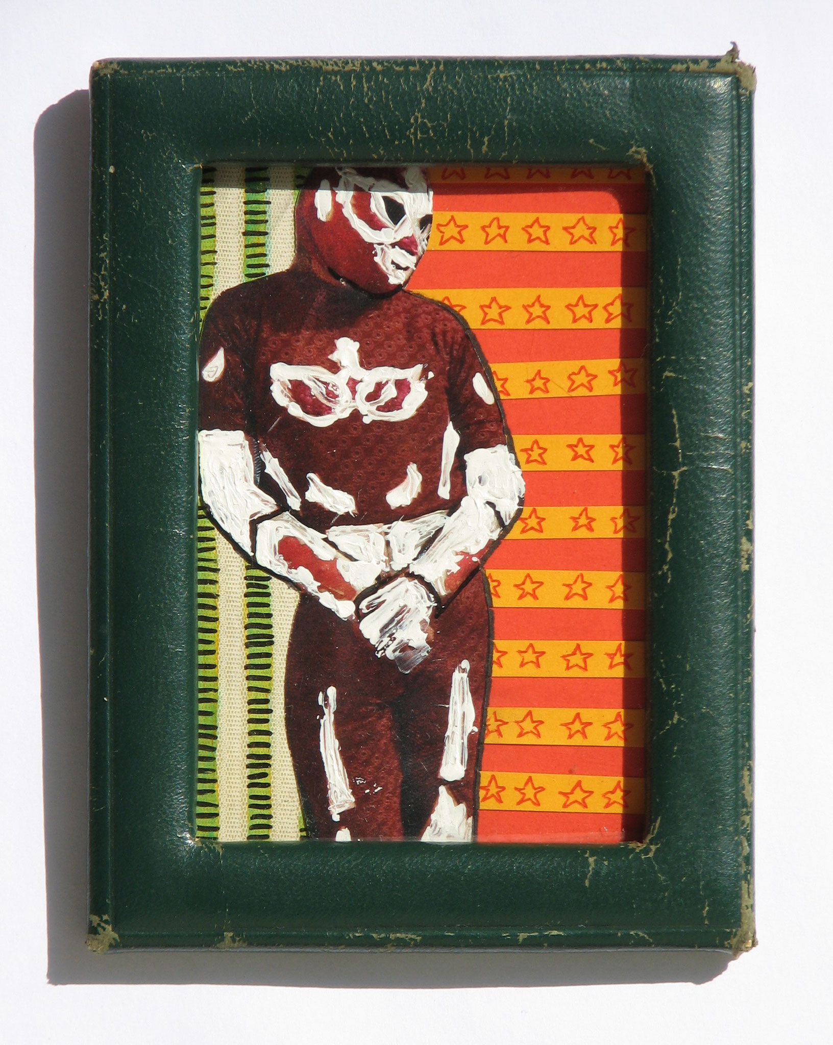 Lucha  2013  Mixed Media  6,1 x 9,2 cm