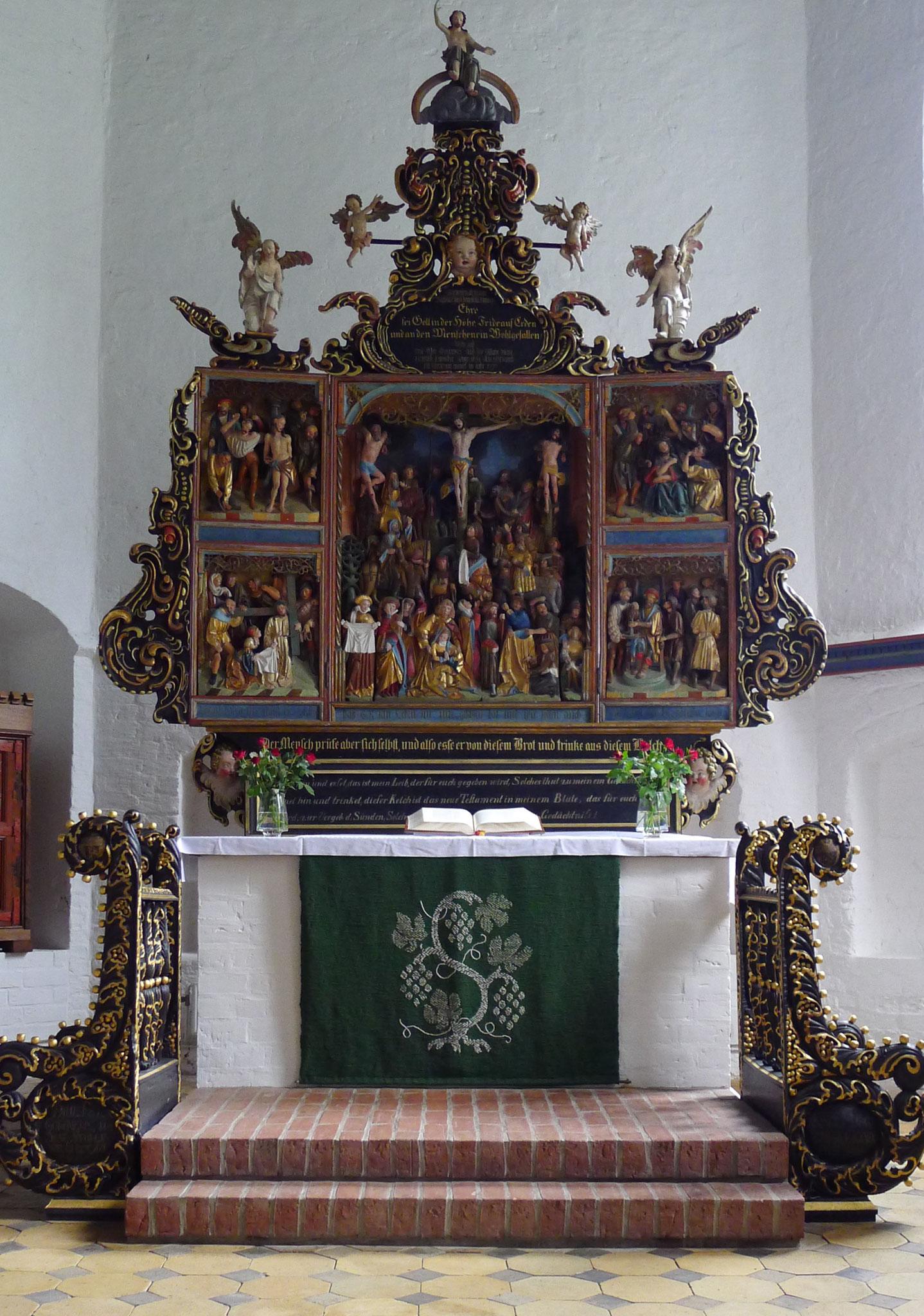 in der Kirche von Tetenbüll (DH)