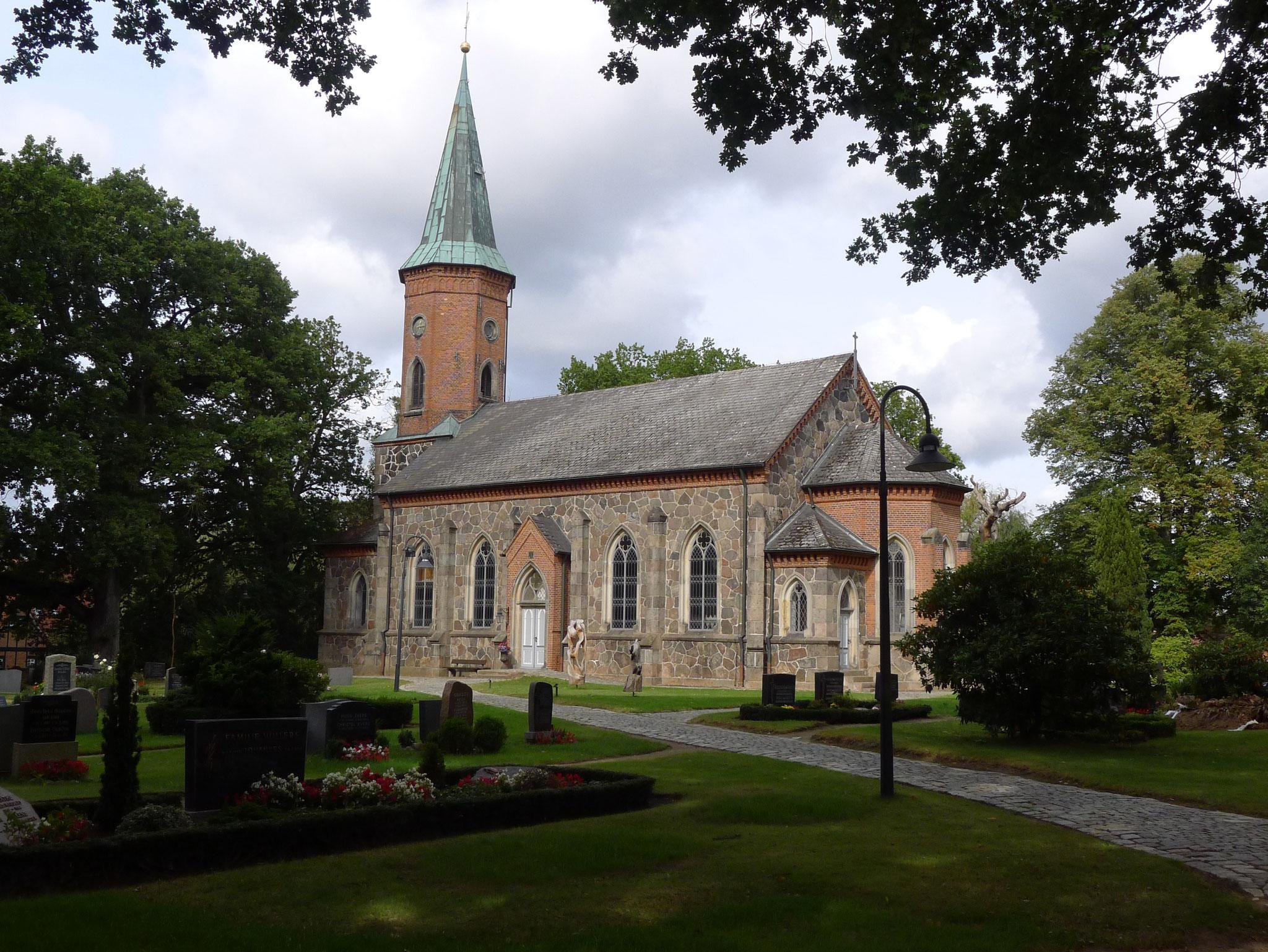 St. Marienkirche in Basthorst (Foto: Dorit Hartz)