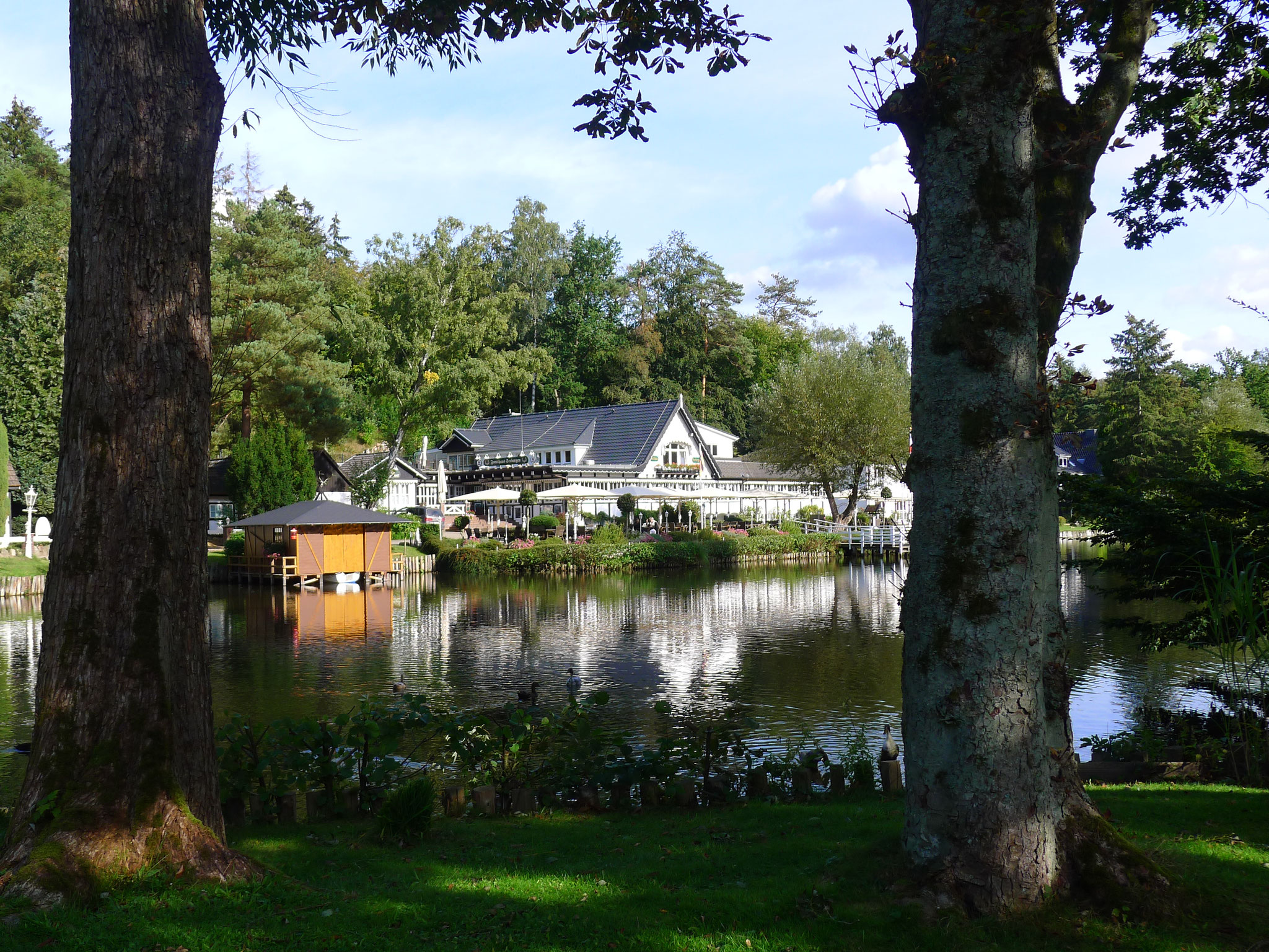 Forsthaus Seebergen am Lütjensee (Foto: Dorit Hartz)