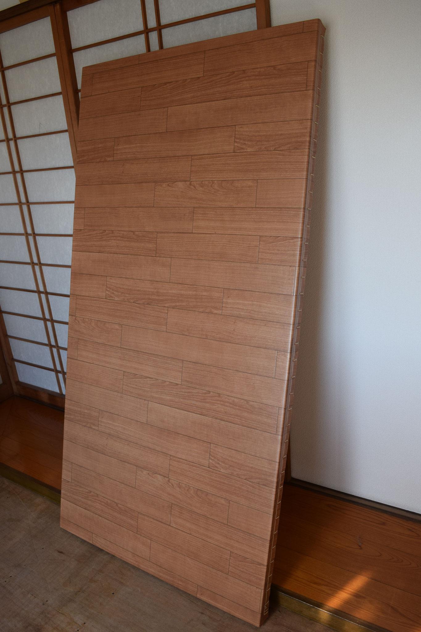畳表の代わりにクッションフロアシートを使った「リフォーム畳®」です!