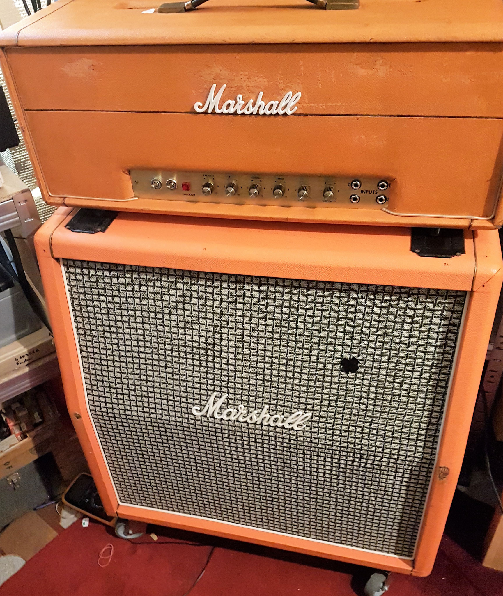 Marshall JMP 100W 1969 super Bass et super Lead Plexi  PPIMW master