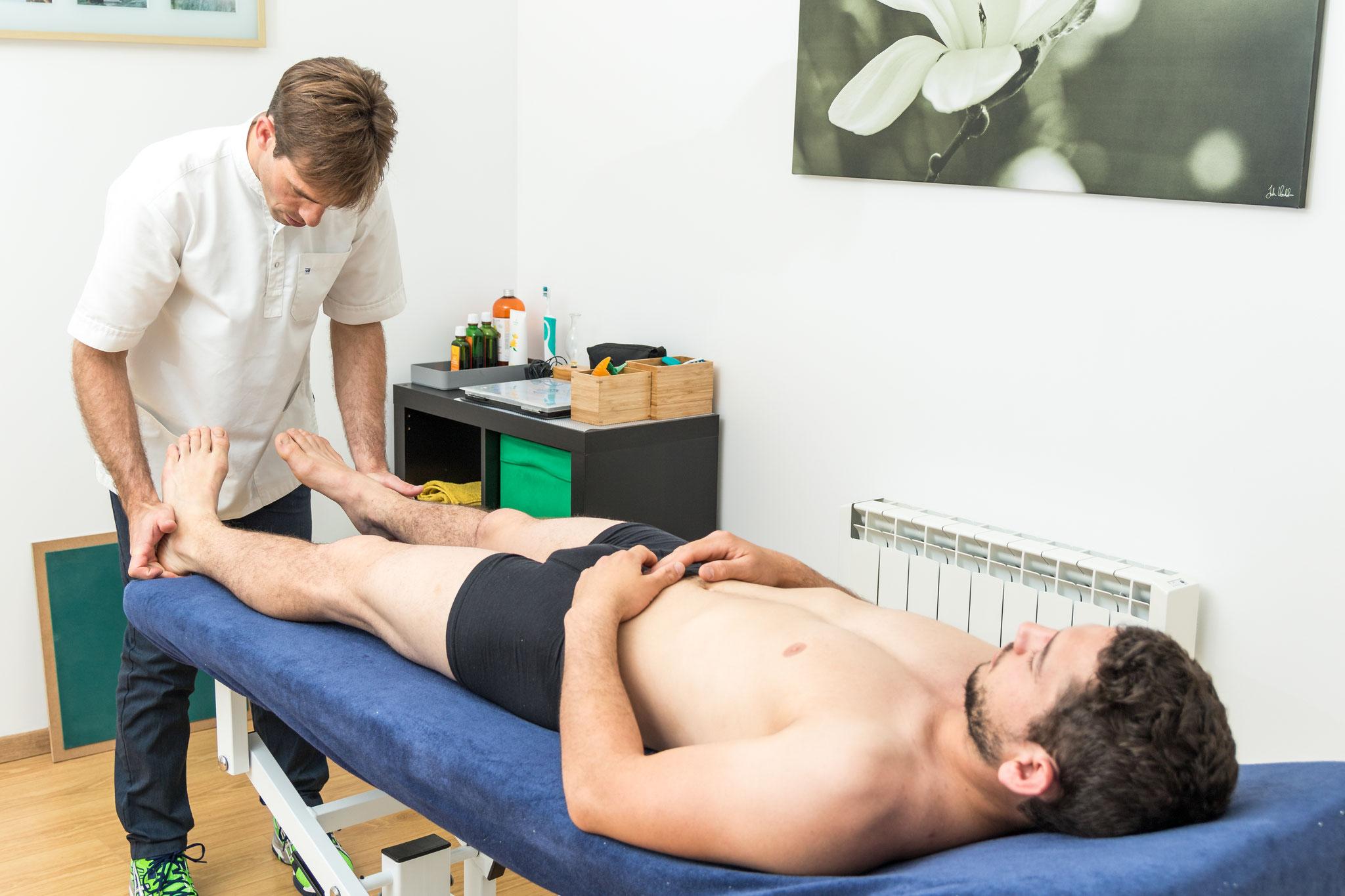 test posturopathique de convergence et de latéralité  podale