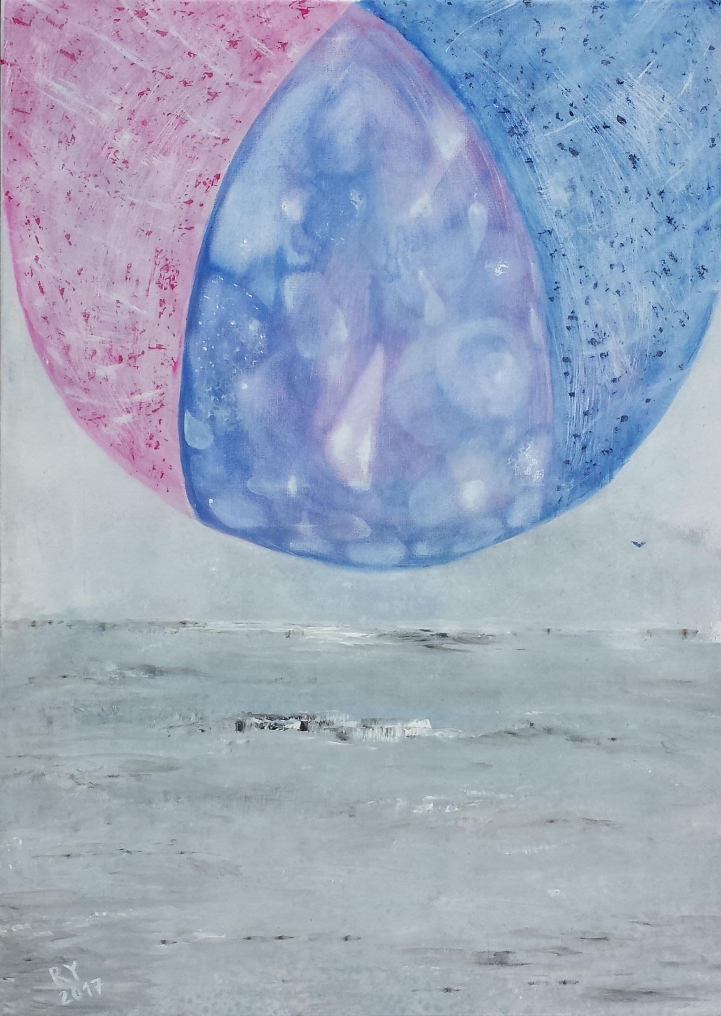 """Open Space"" 50 x 70, Acryl auf Leinwand"
