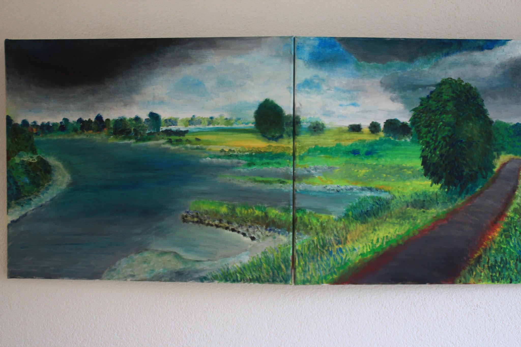 5. Tweeluik. Ooypolder en Rijn