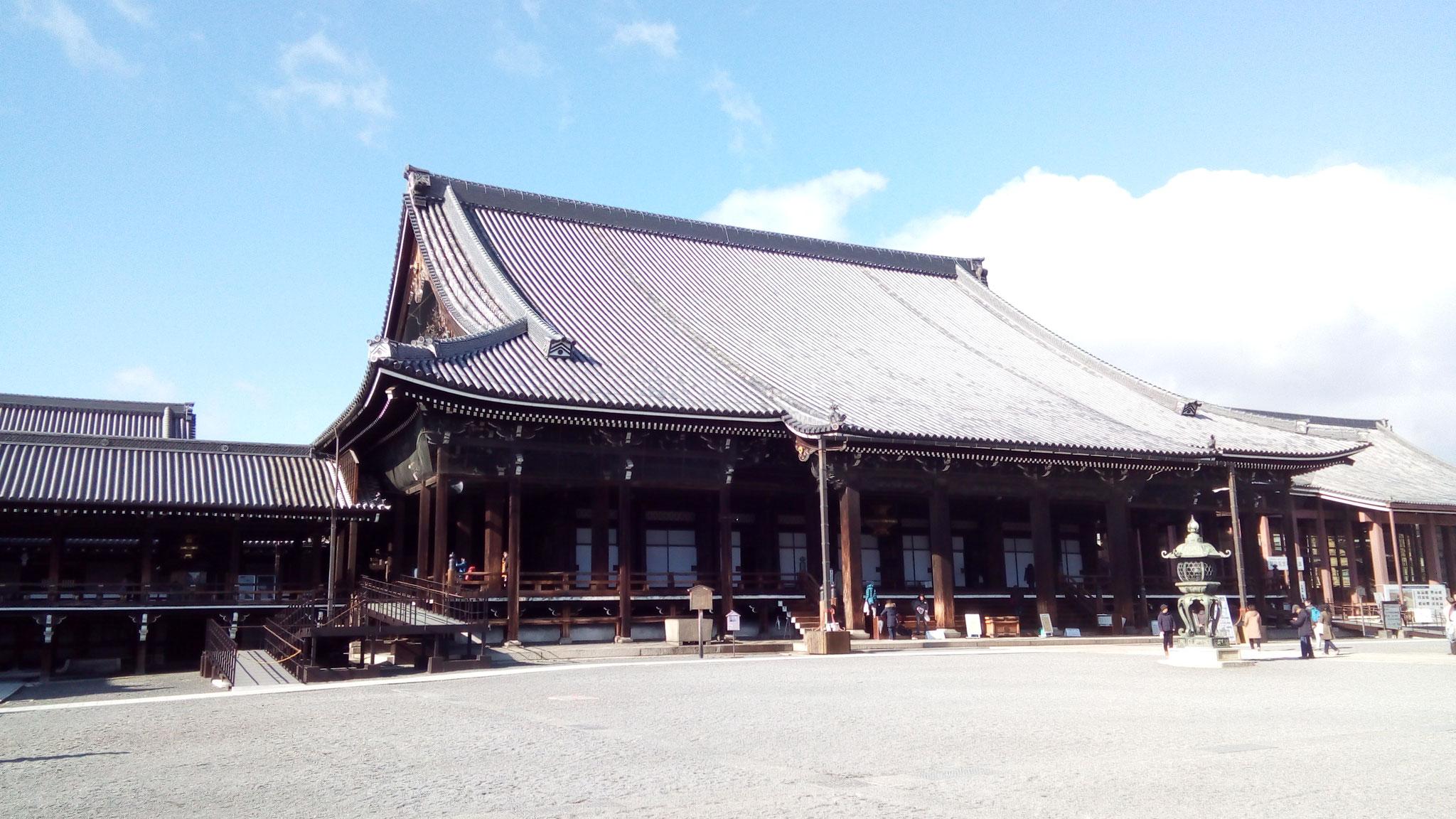 本堂の阿弥陀堂(国宝)