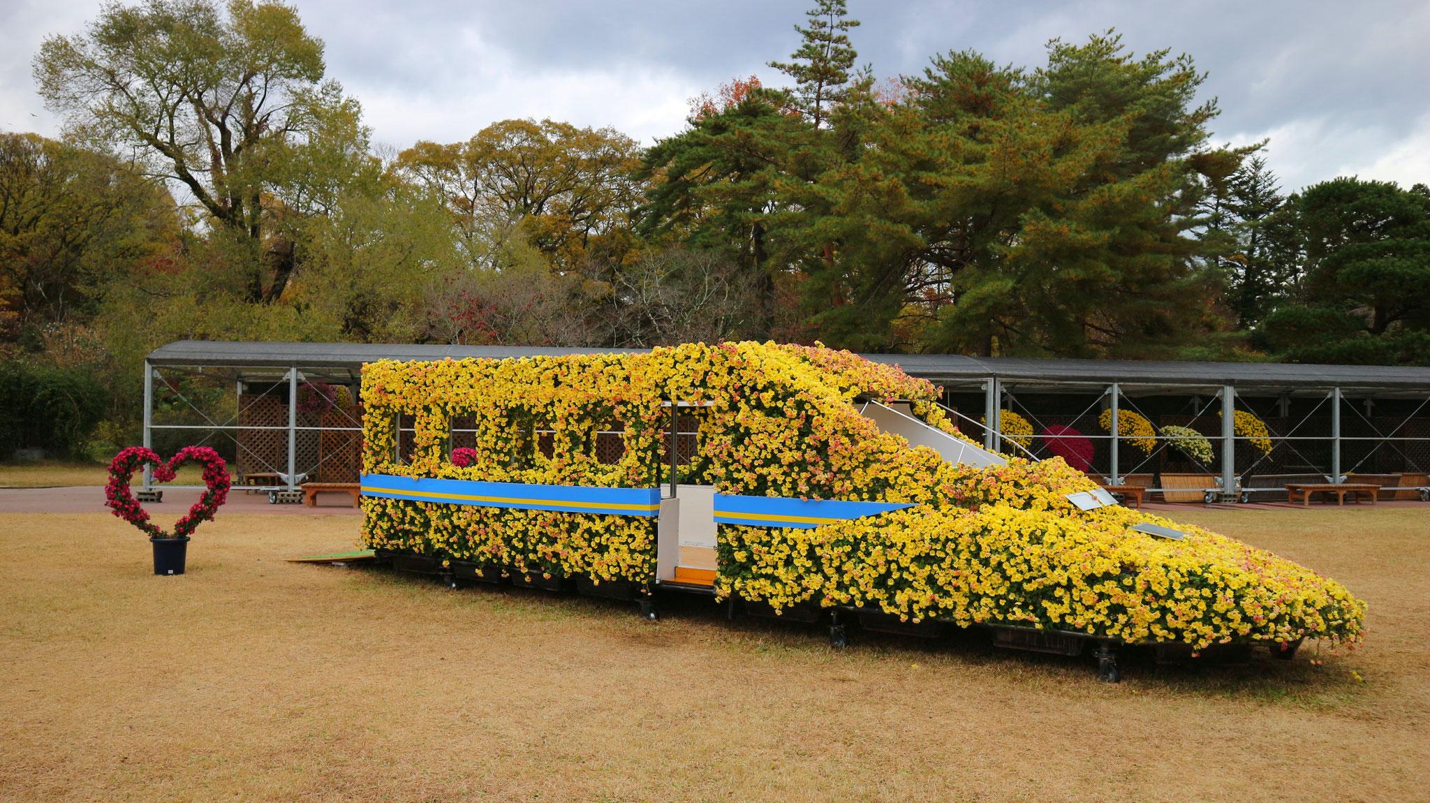 菊の新幹線、ご乗車可能