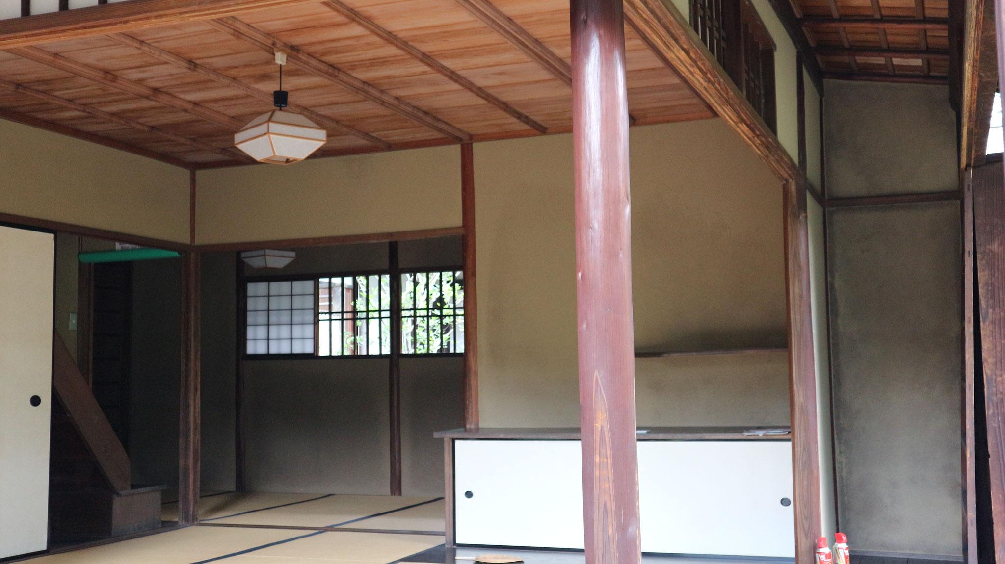 蘆菴の1階茶室