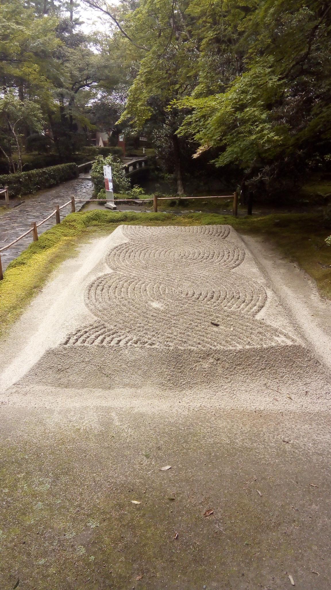 浄域の砂盛 白砂壇