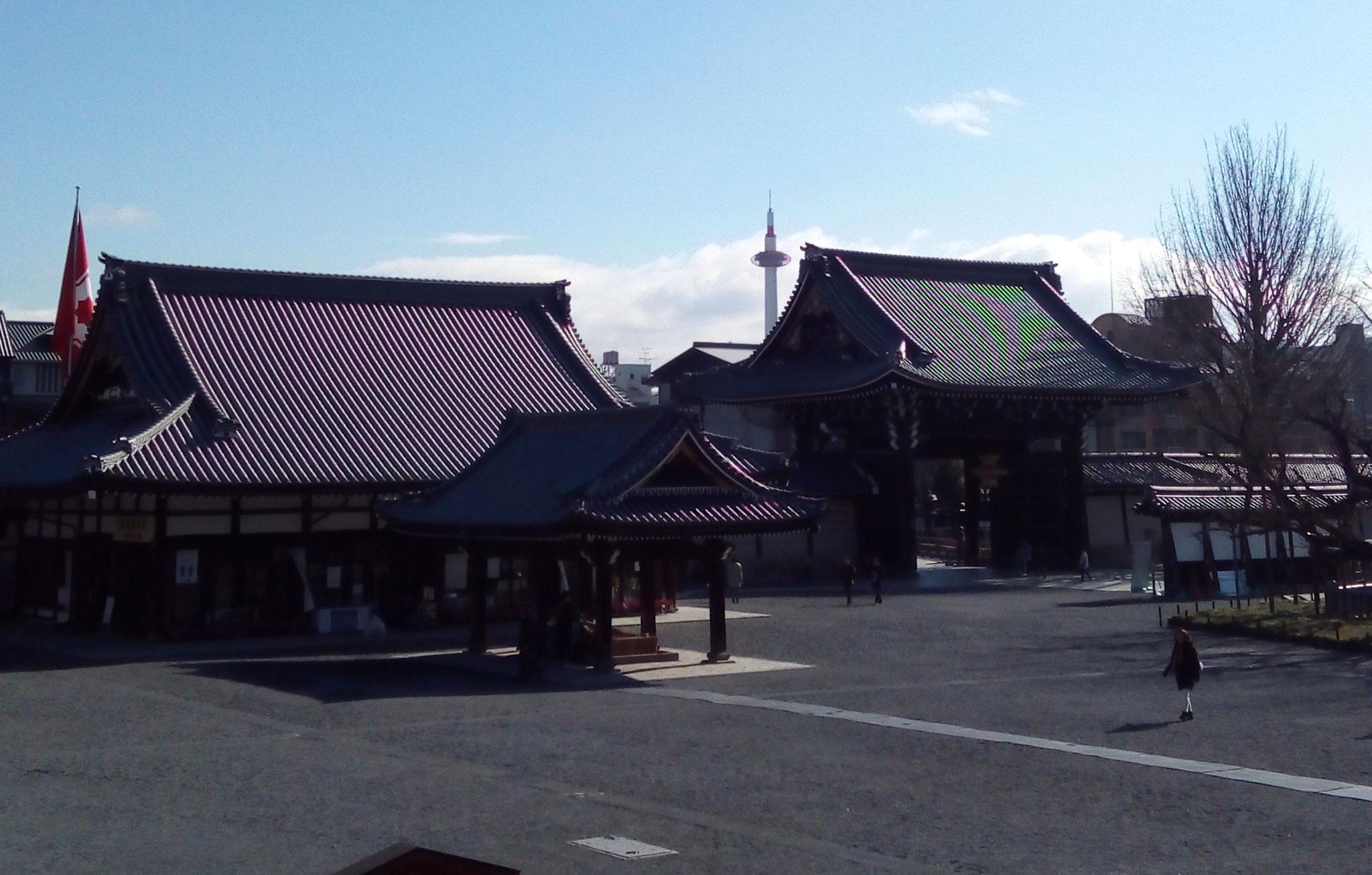 京都タワーの眺望