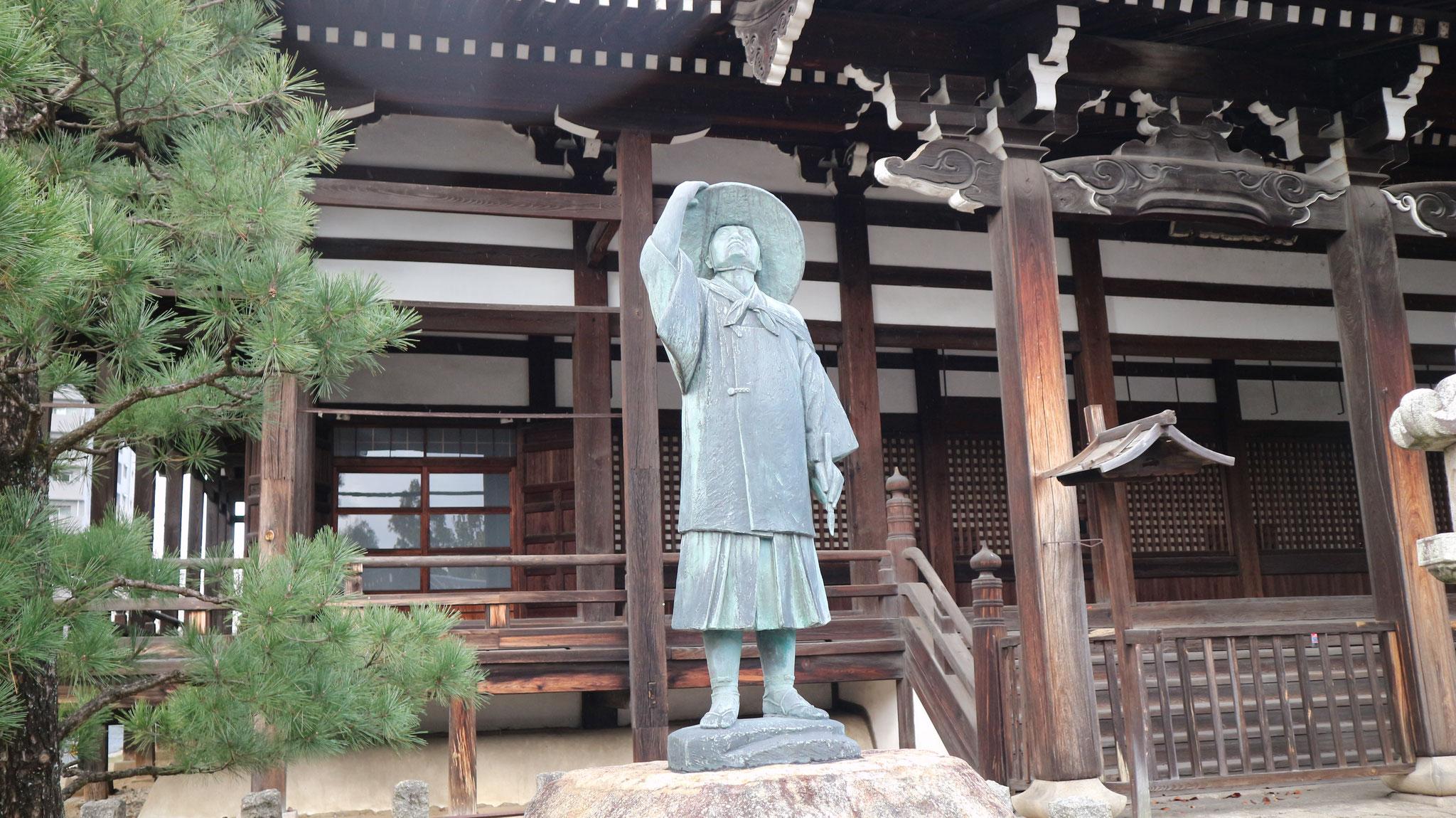琳派の祖・本阿弥光悦の菩提寺
