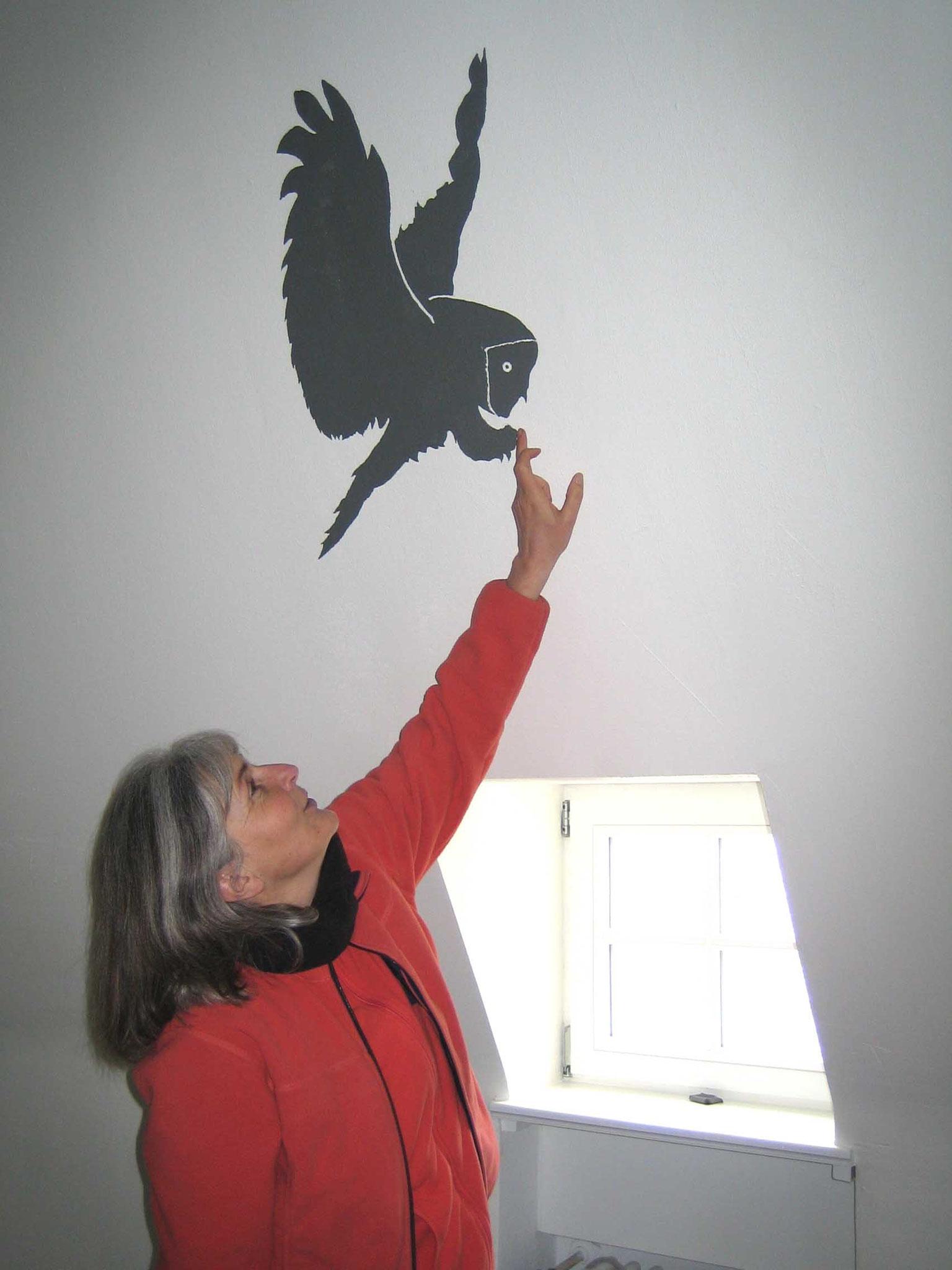 Wandmalerei JH Burg Bilstein