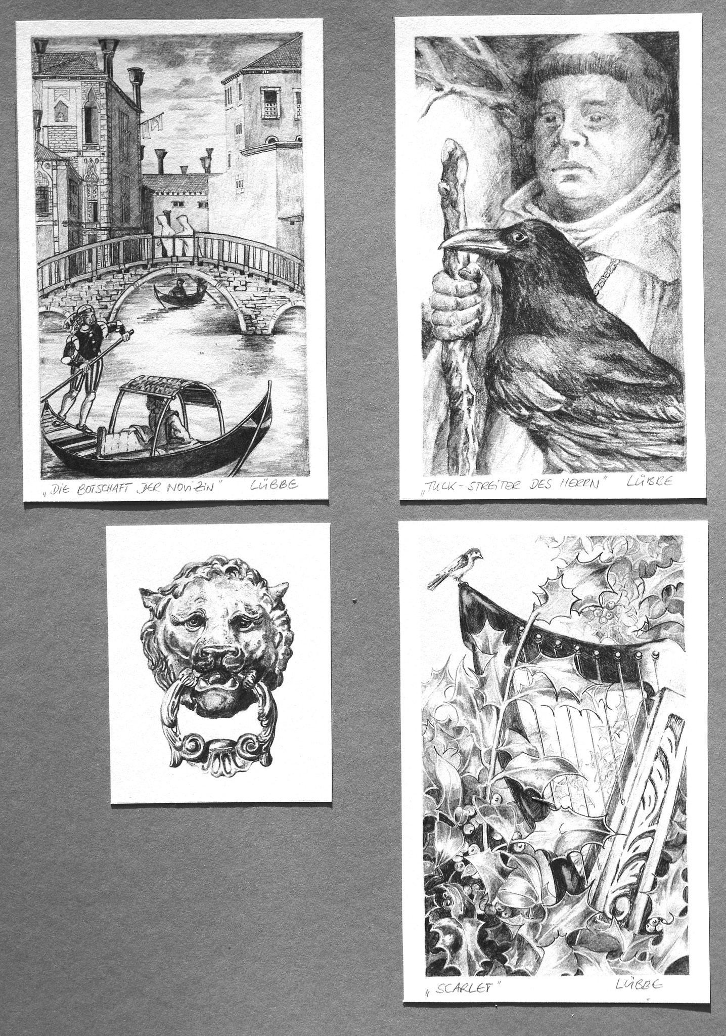 Buchillustrationen für Verlagsgruppe Luebbe