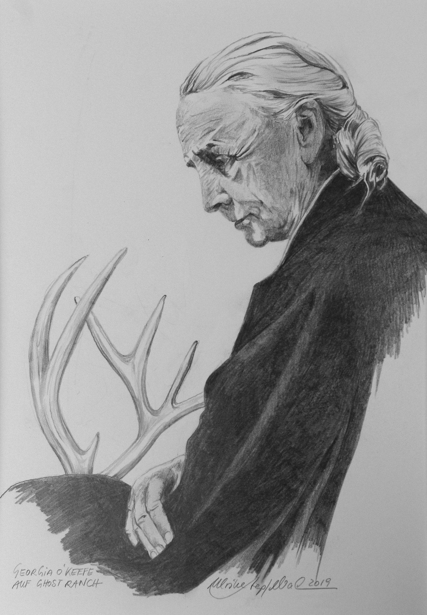 Georgia O` Keeffe / Bleistift
